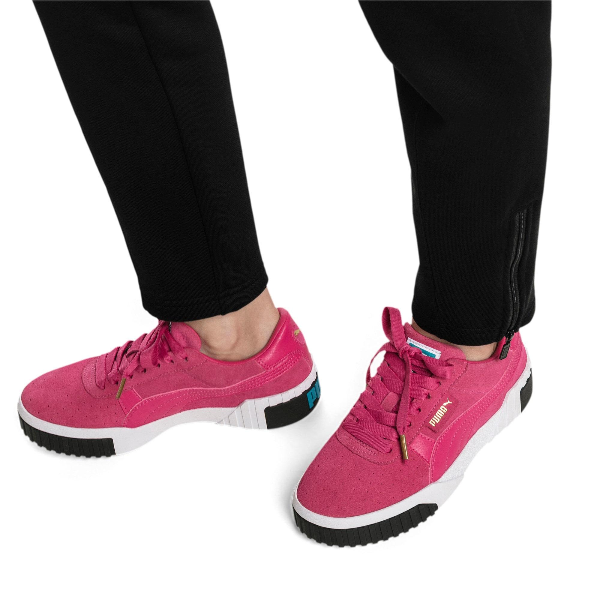 Miniatura 7 de Zapatos deportivos Cali Suede de mujer, Fuchsia Purple, mediano