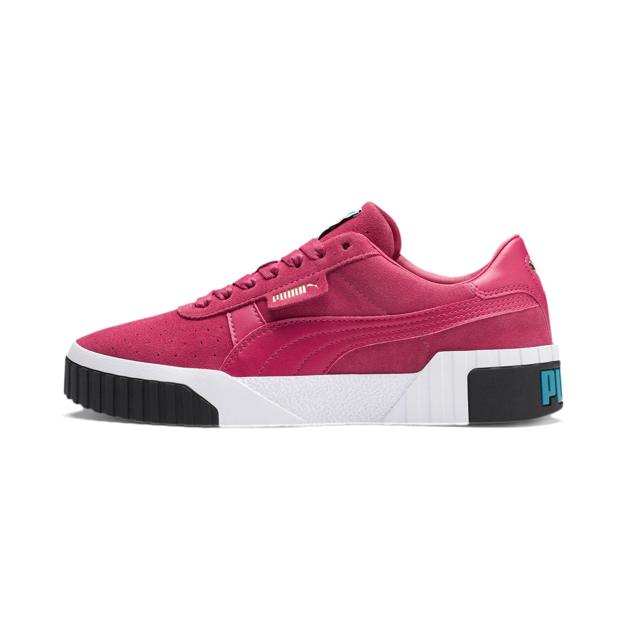 Miniatura 1 de Zapatos deportivos Cali Suede de mujer, Fuchsia Purple, mediano