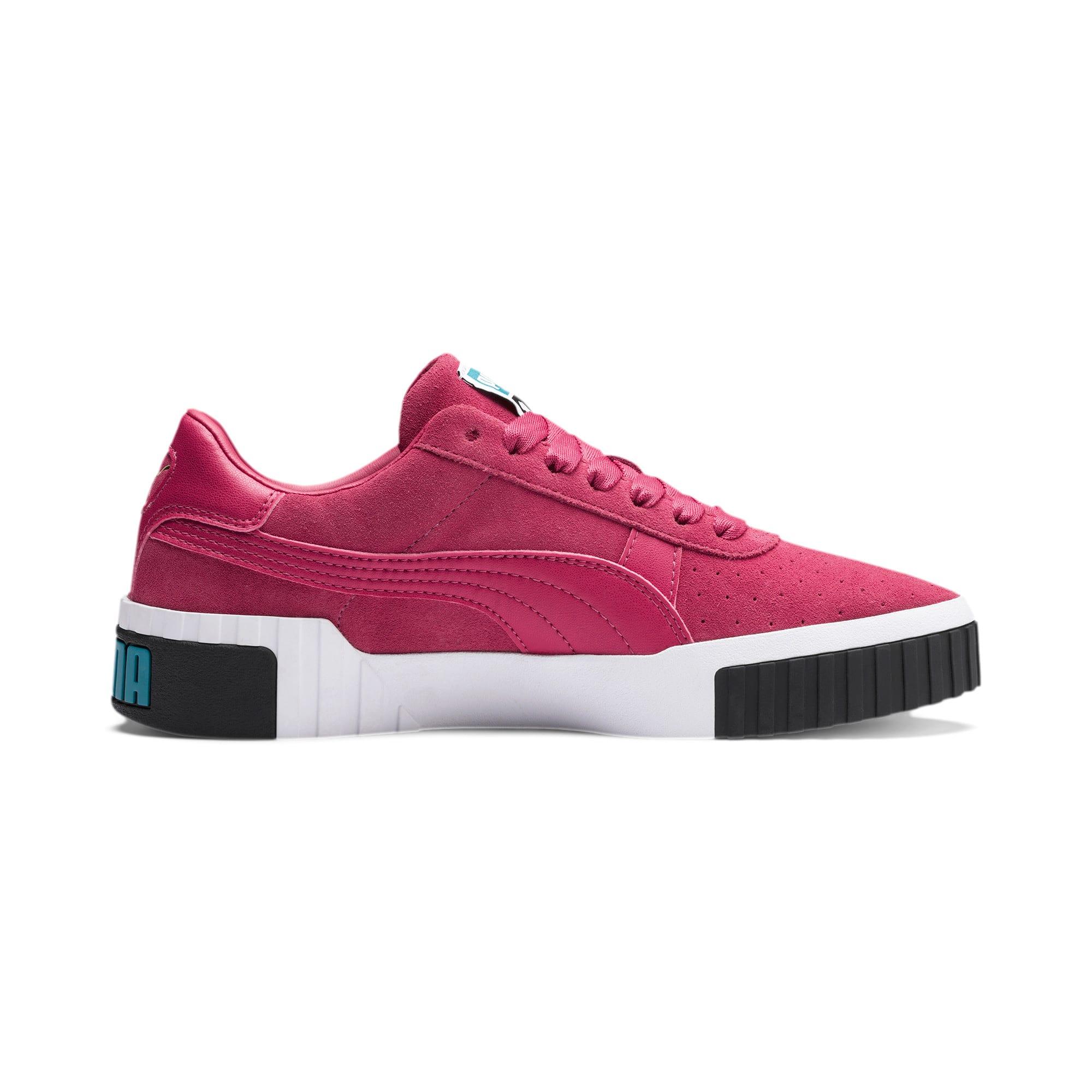 Miniatura 5 de Zapatos deportivos Cali Suede de mujer, Fuchsia Purple, mediano