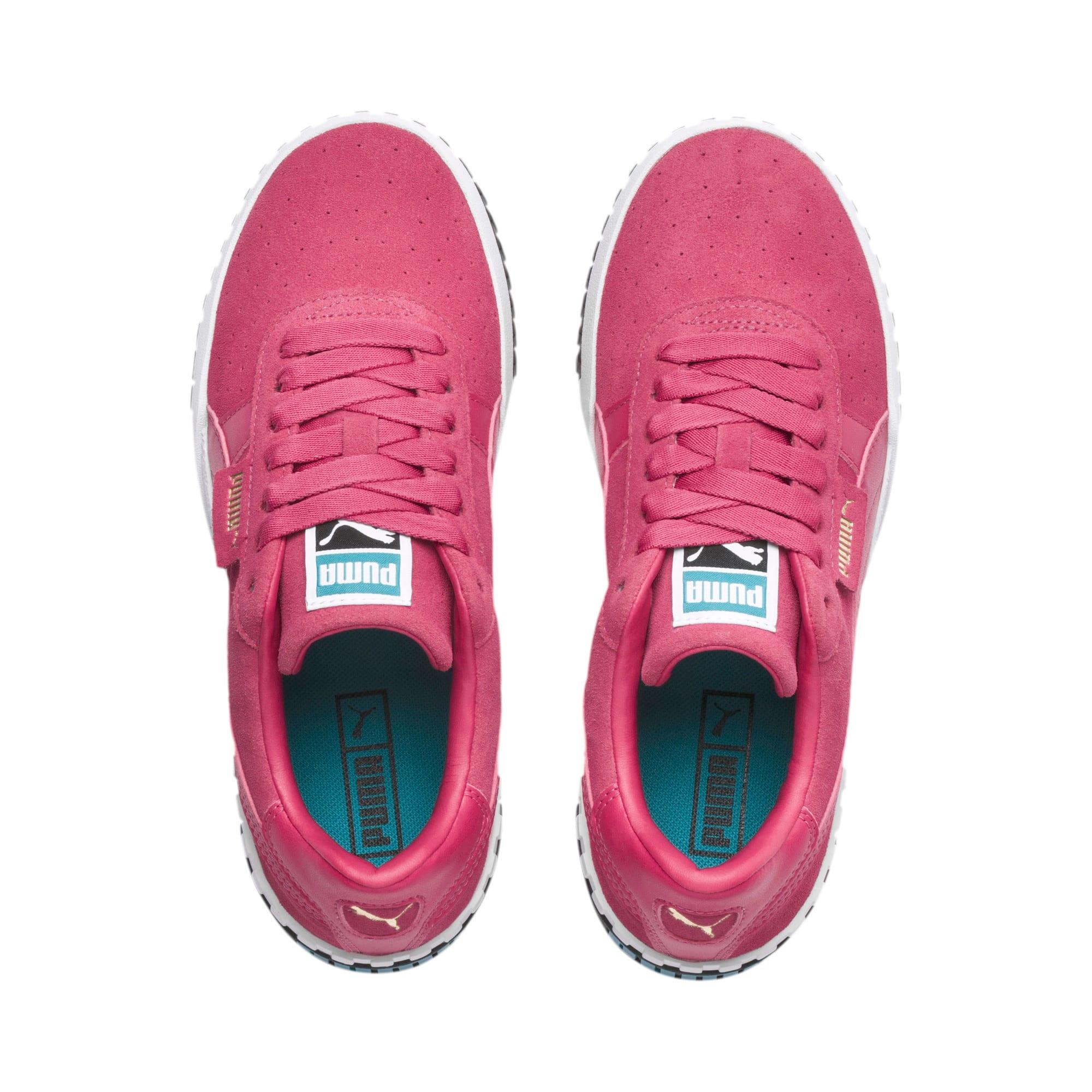 Miniatura 6 de Zapatos deportivos Cali Suede de mujer, Fuchsia Purple, mediano