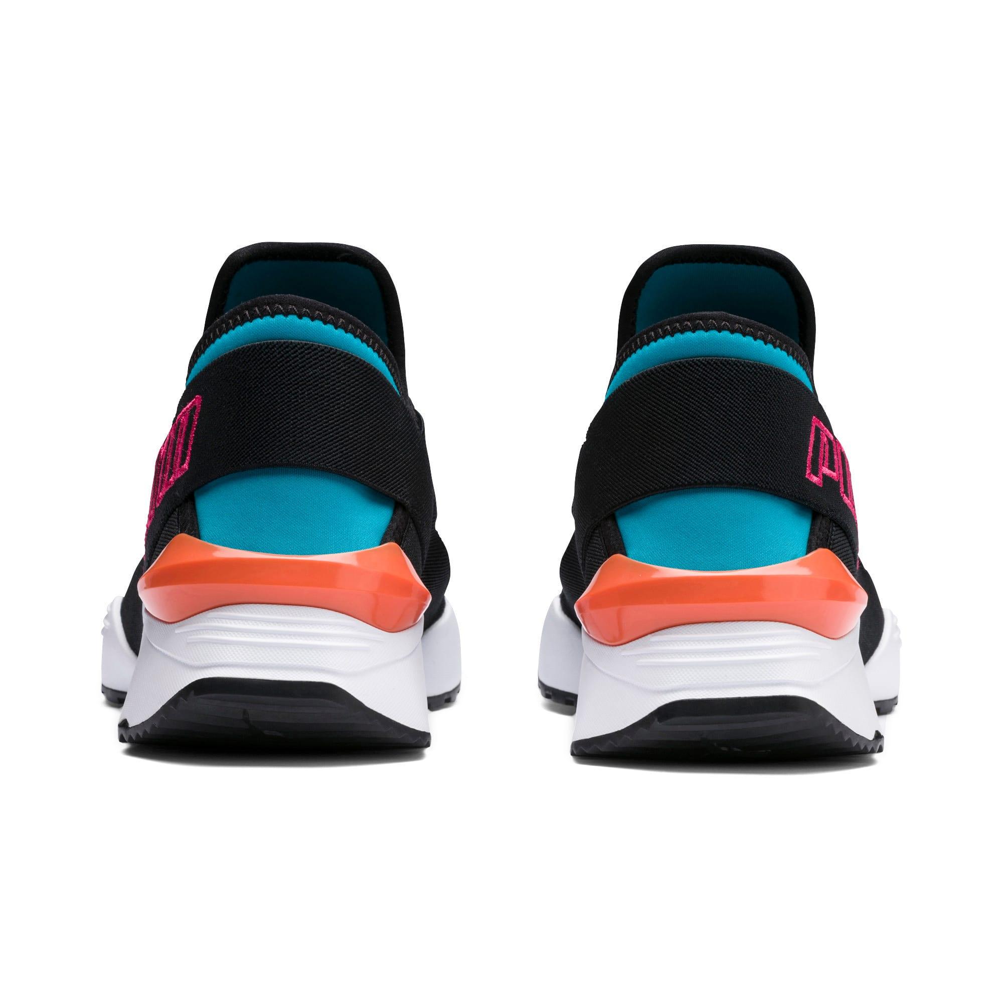Thumbnail 4 of Muse 2 EOS Trailblazer Women's Sneakers, Caribbean Sea-Puma Black, medium