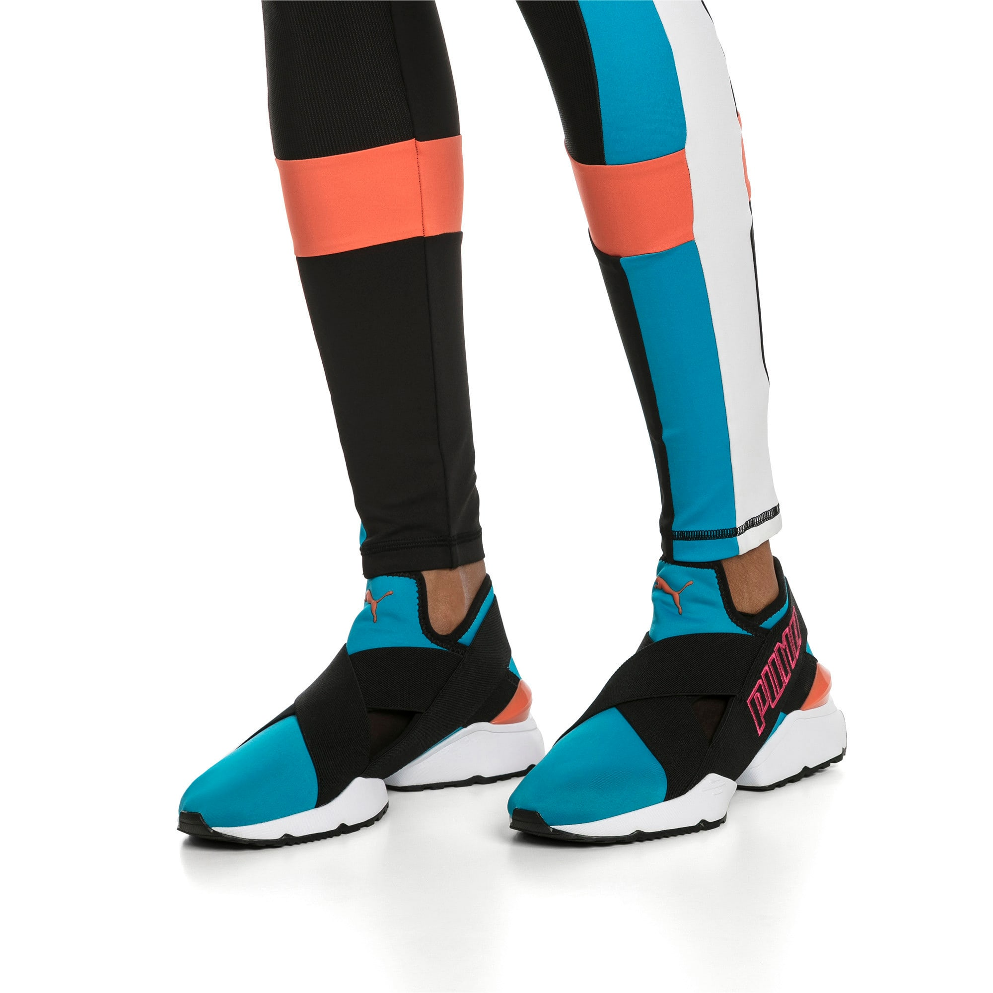 Thumbnail 2 of Muse 2 EOS Trailblazer Women's Sneakers, Caribbean Sea-Puma Black, medium
