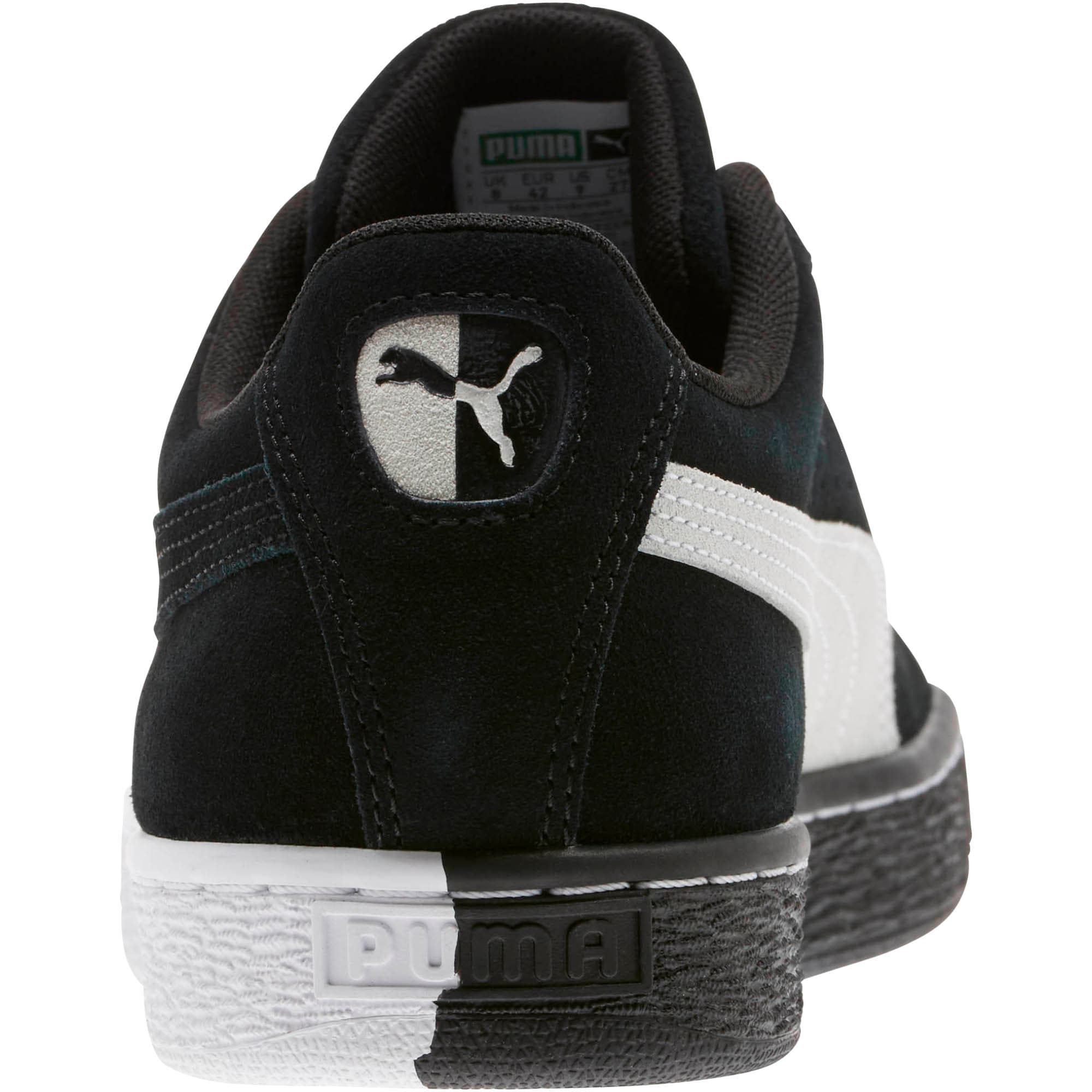"""Thumbnail 4 of Suede Classic """"Other Side"""" Sneakers, Puma Black-Puma White, medium"""