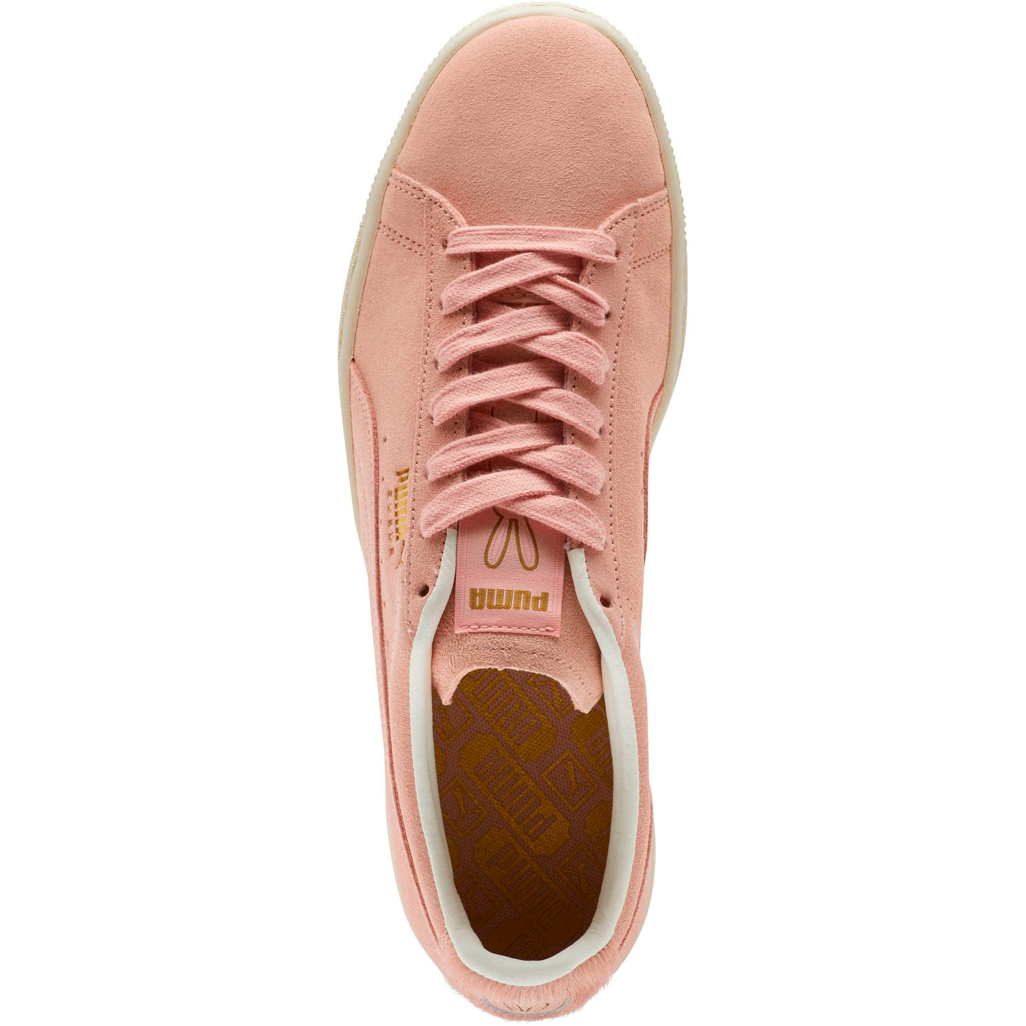 Thumbnail 5 of Suede Classic Easter Sneakers, Coral Cloud-Whisper White, medium