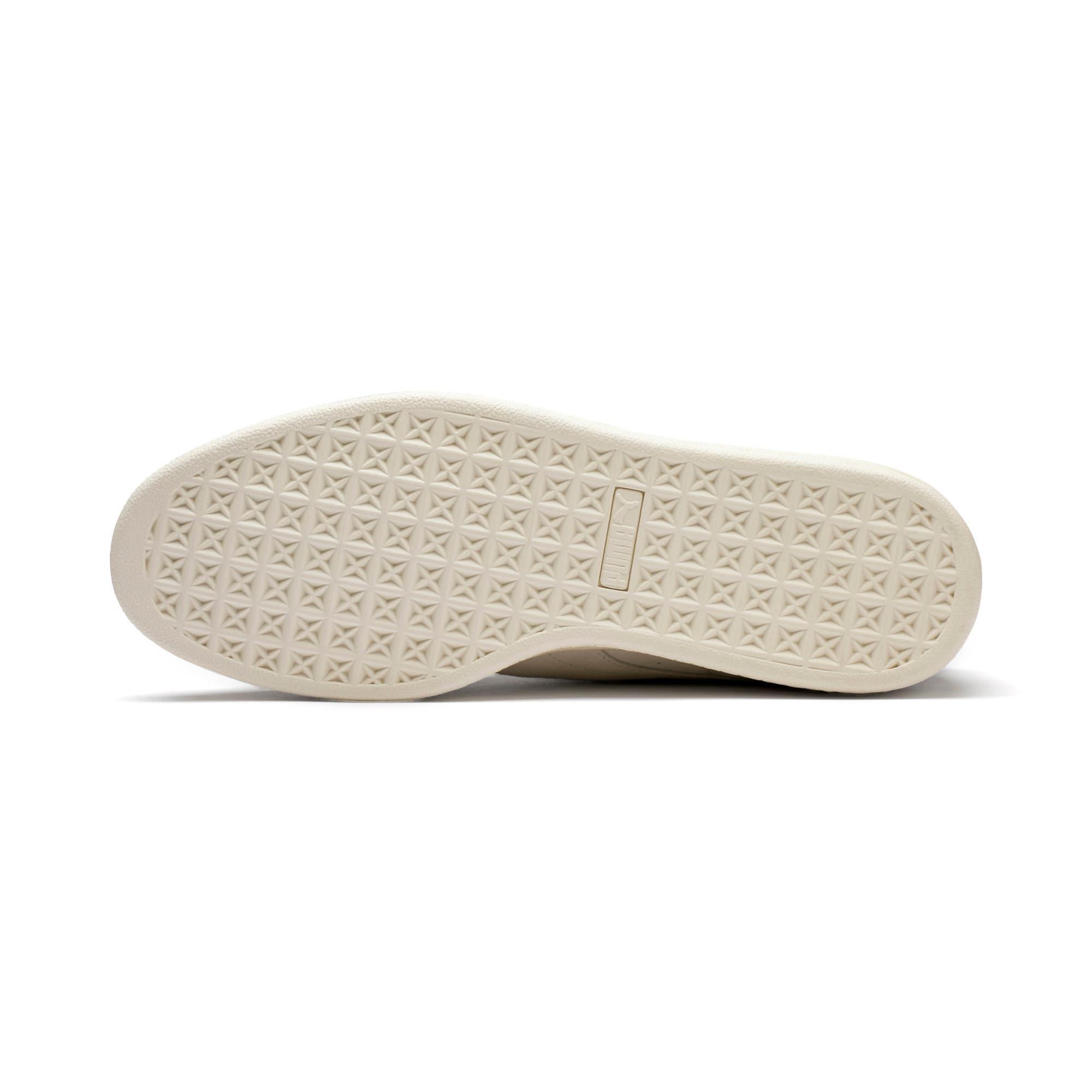 Thumbnail 4 of Suede Classic Easter Sneakers, Whisper White-Whisper White, medium