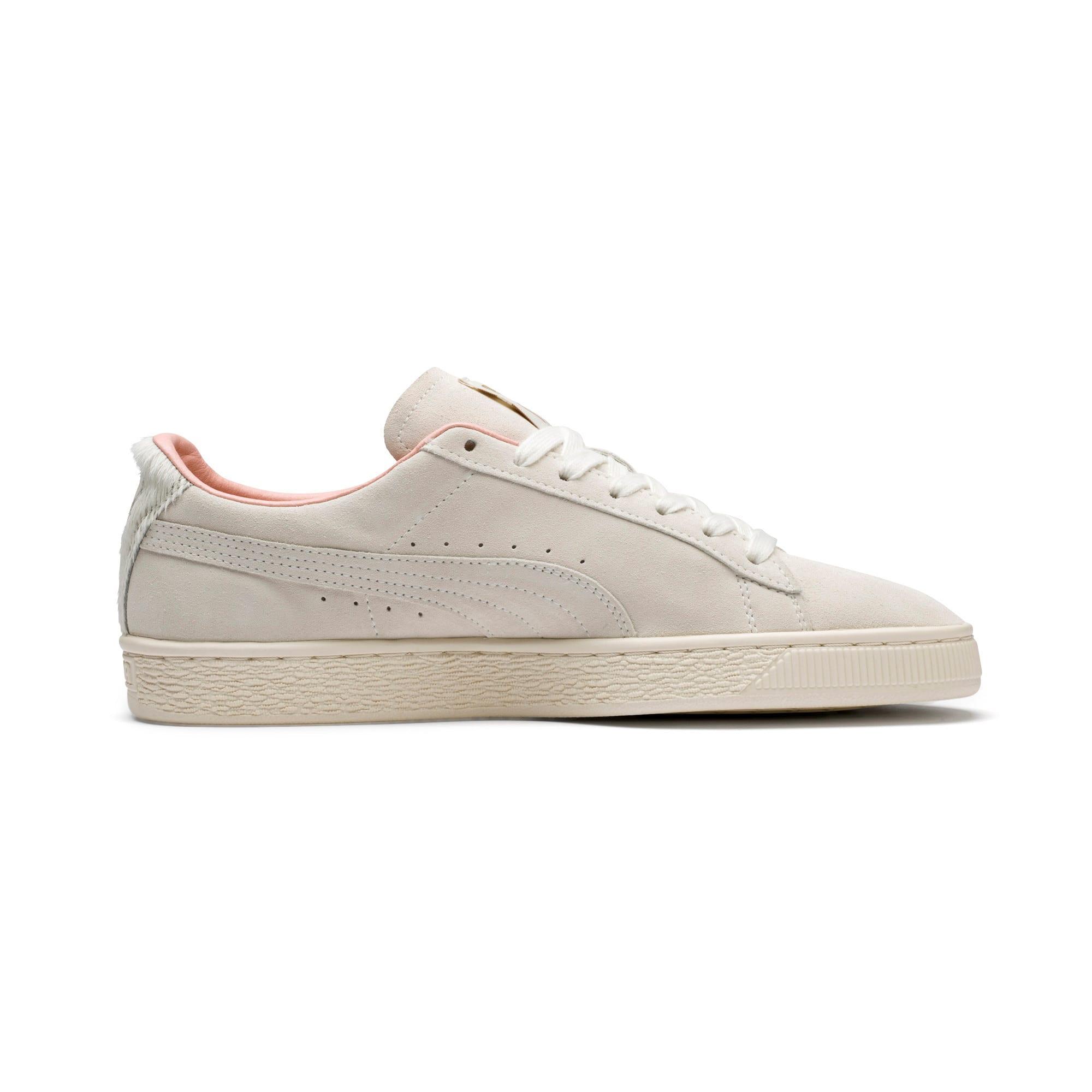 Thumbnail 5 of Suede Classic Easter Sneakers, Whisper White-Whisper White, medium