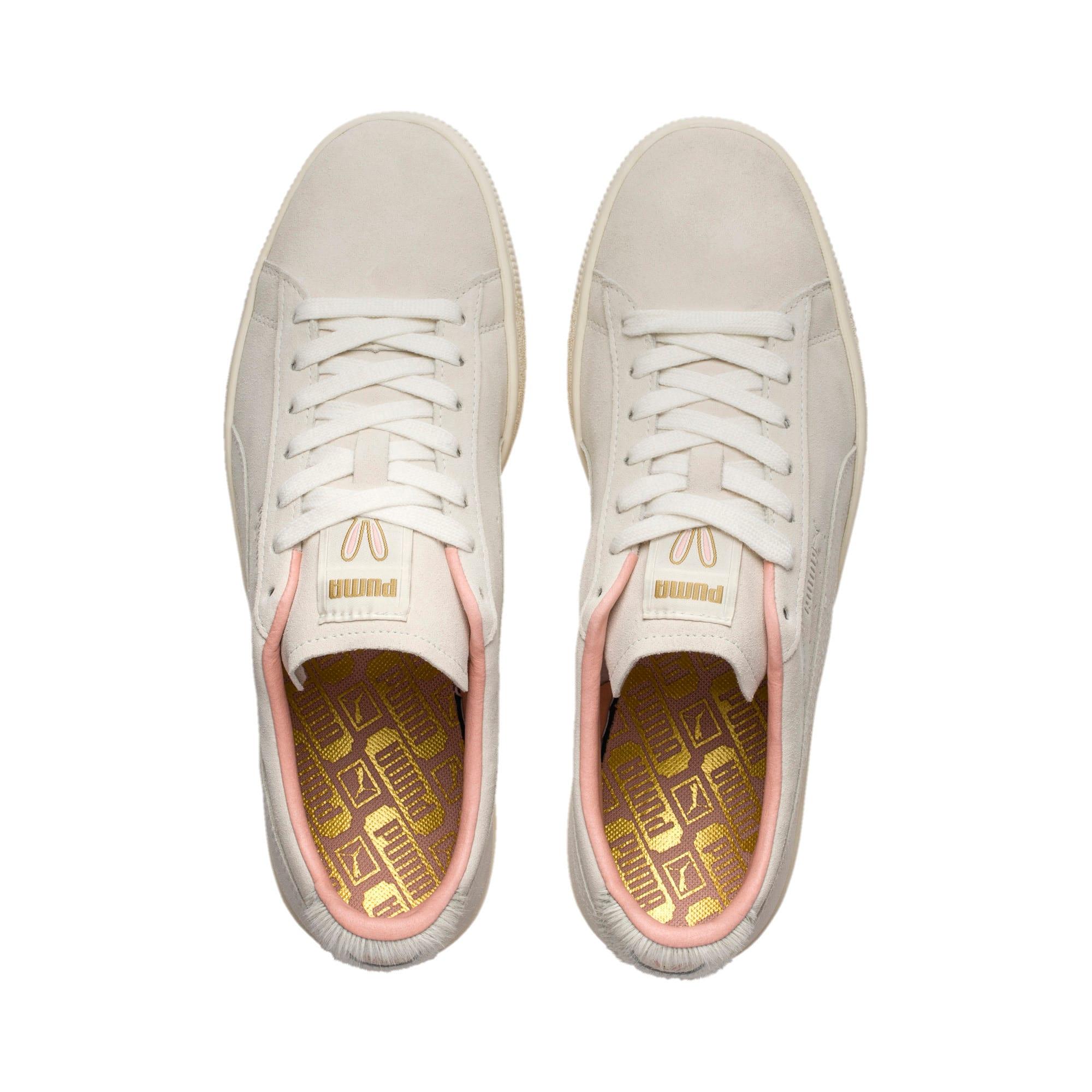 Thumbnail 6 of Suede Classic Easter Sneakers, Whisper White-Whisper White, medium