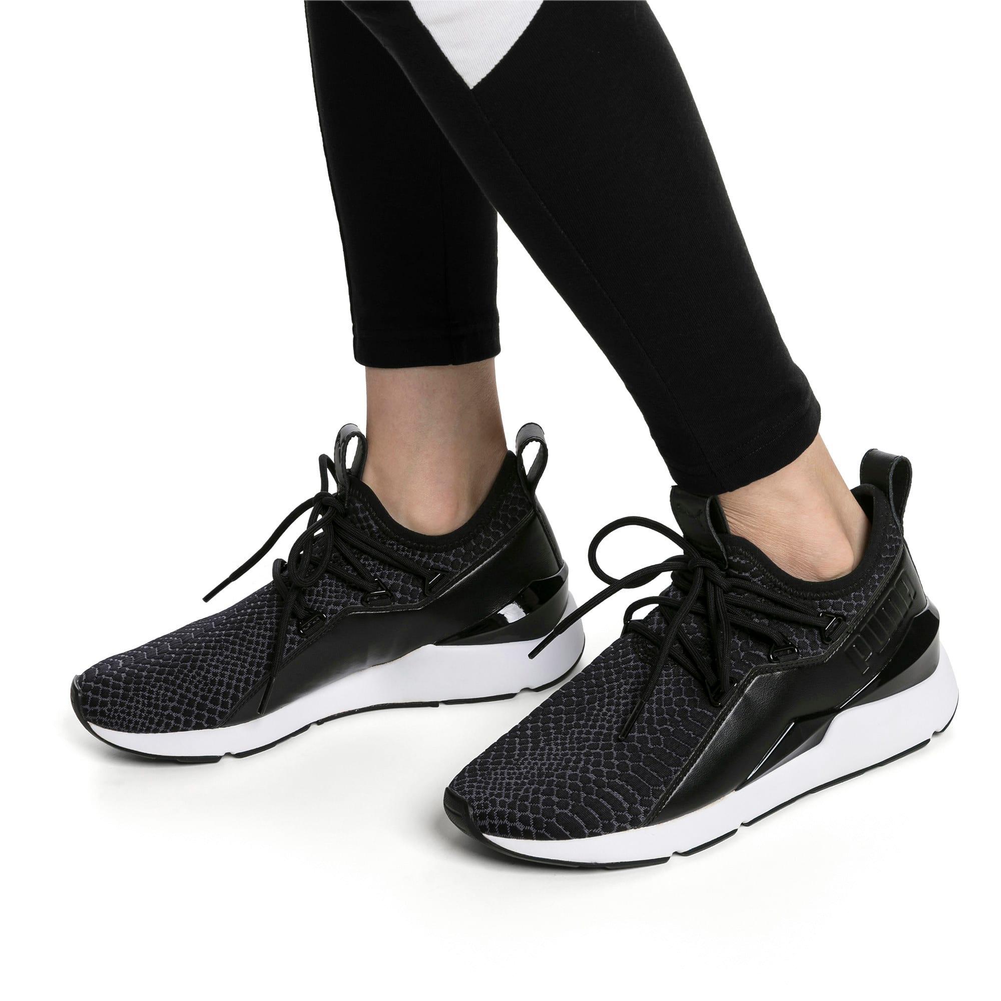 Thumbnail 2 of Muse 2 Reptile Trailblazer Women's Sneakers, Puma Black, medium