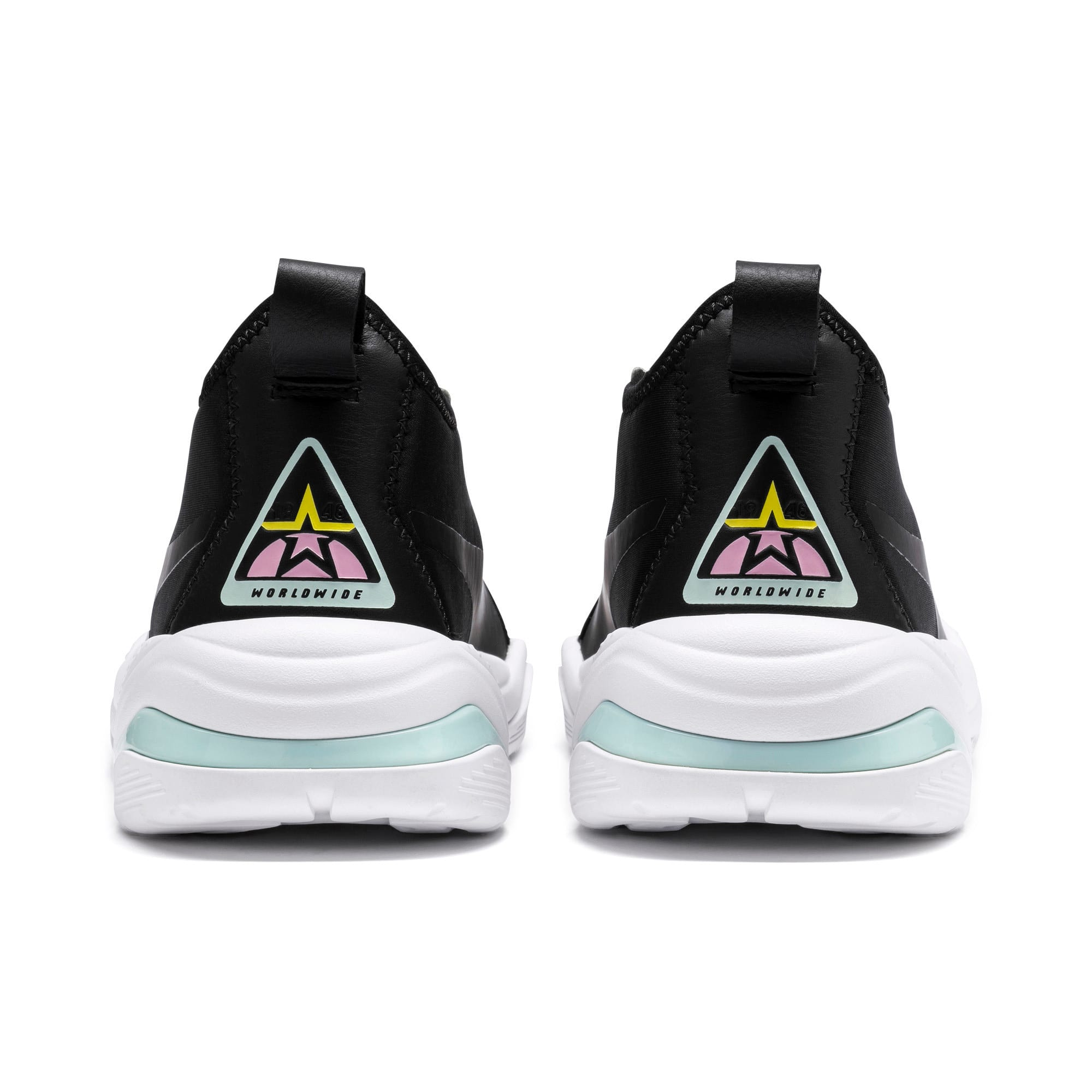 Miniatura 4 de Zapatos deportivos para mujer Thunder Trailblazer, Puma Black-Pale Pink, mediano