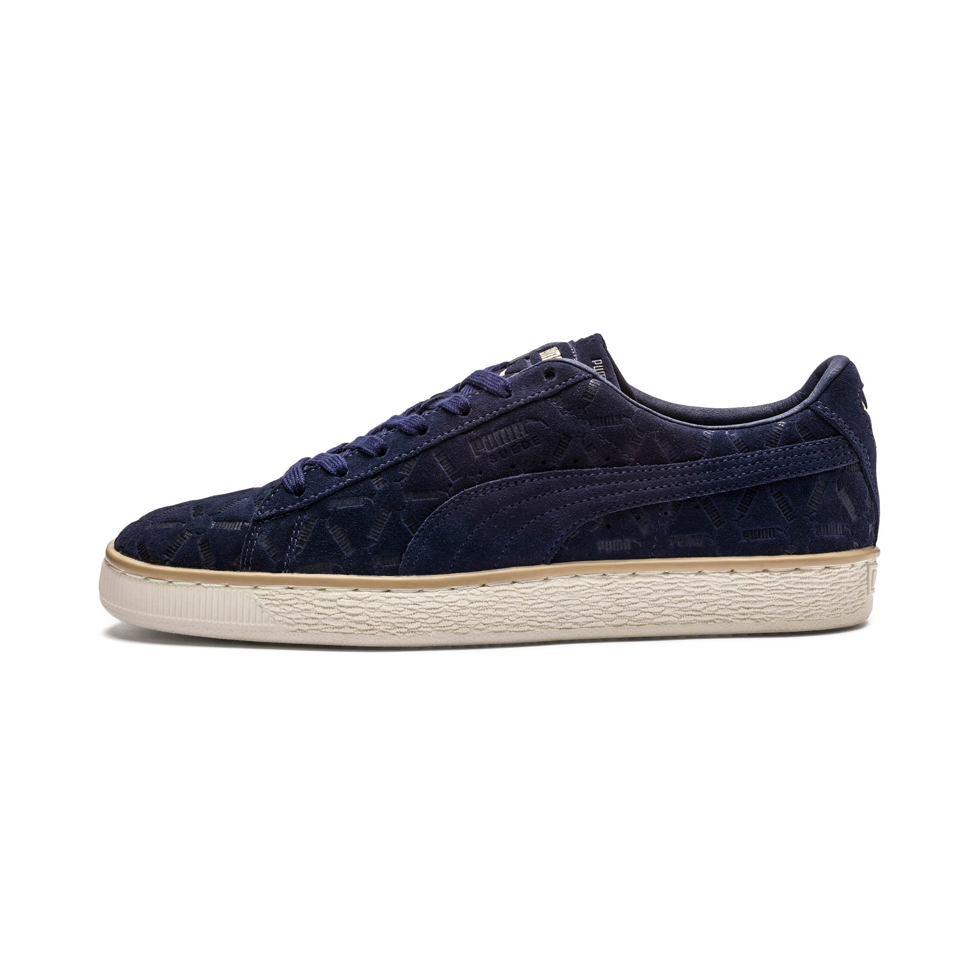 Thumbnail 1 of Suede Classic Lux Sneakers, Peacoat-Pebble-Whisper White, medium