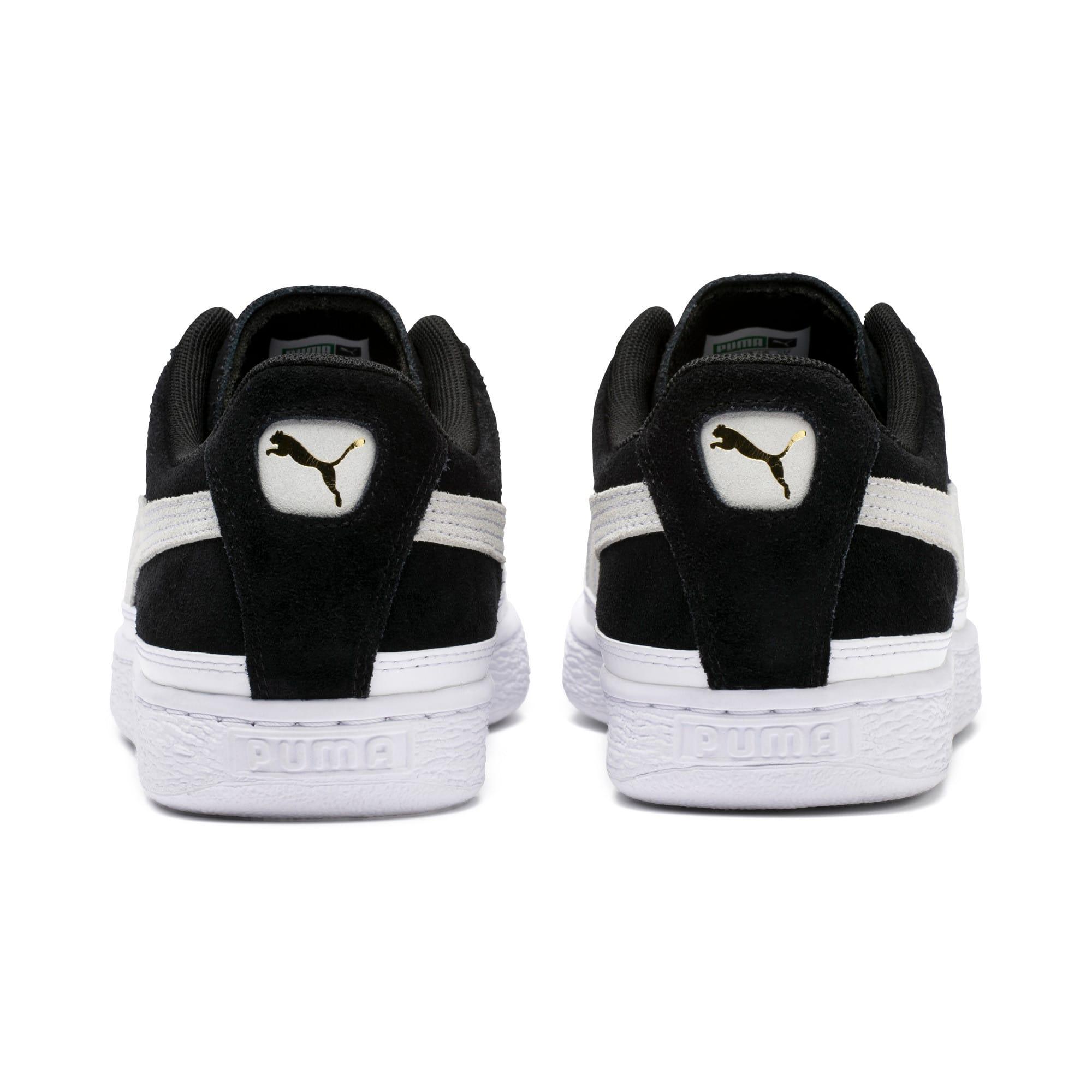 Thumbnail 4 of Suede Skate Sneakers, Puma Black-Puma White, medium