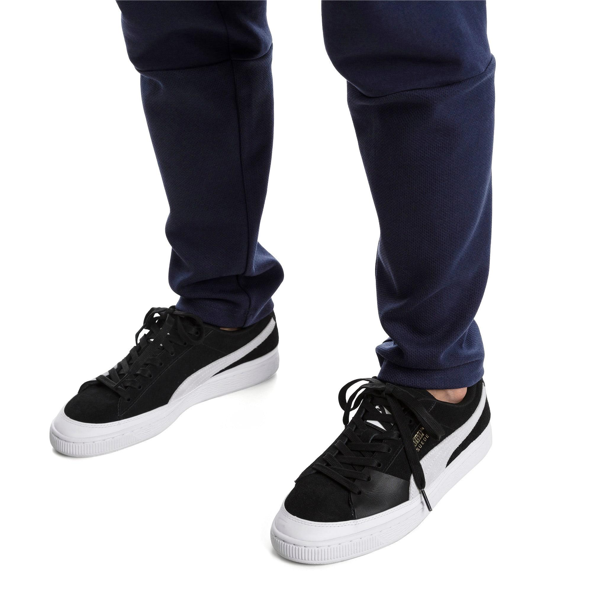 Thumbnail 7 of Suede Skate Sneakers, Puma Black-Puma White, medium