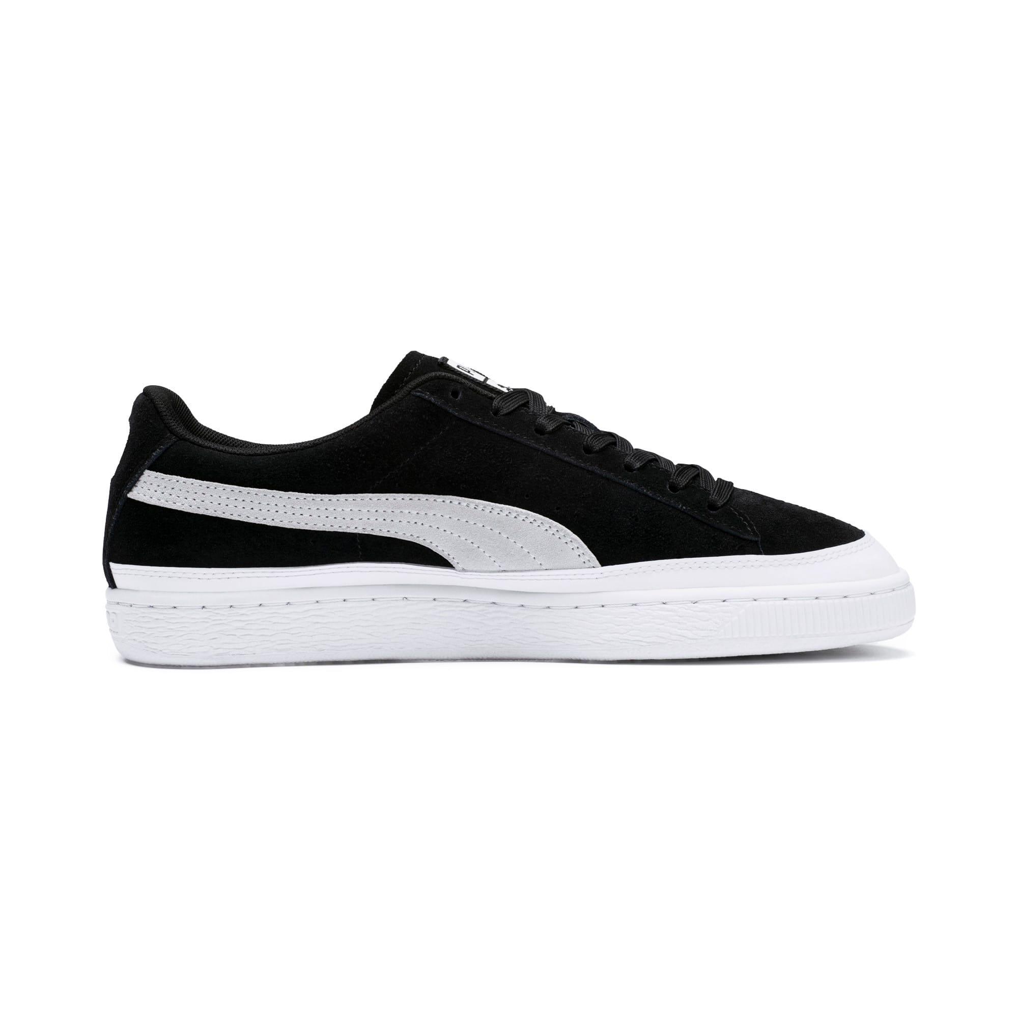 Thumbnail 5 of Suede Skate Sneakers, Puma Black-Puma White, medium