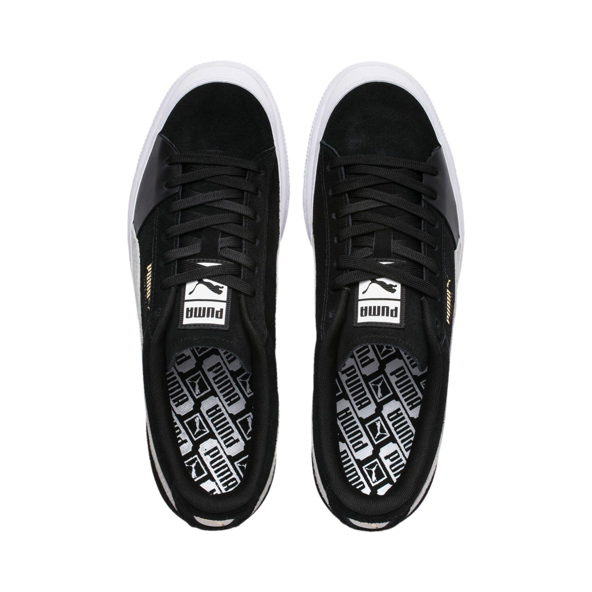 Thumbnail 6 of Suede Skate Sneakers, Puma Black-Puma White, medium