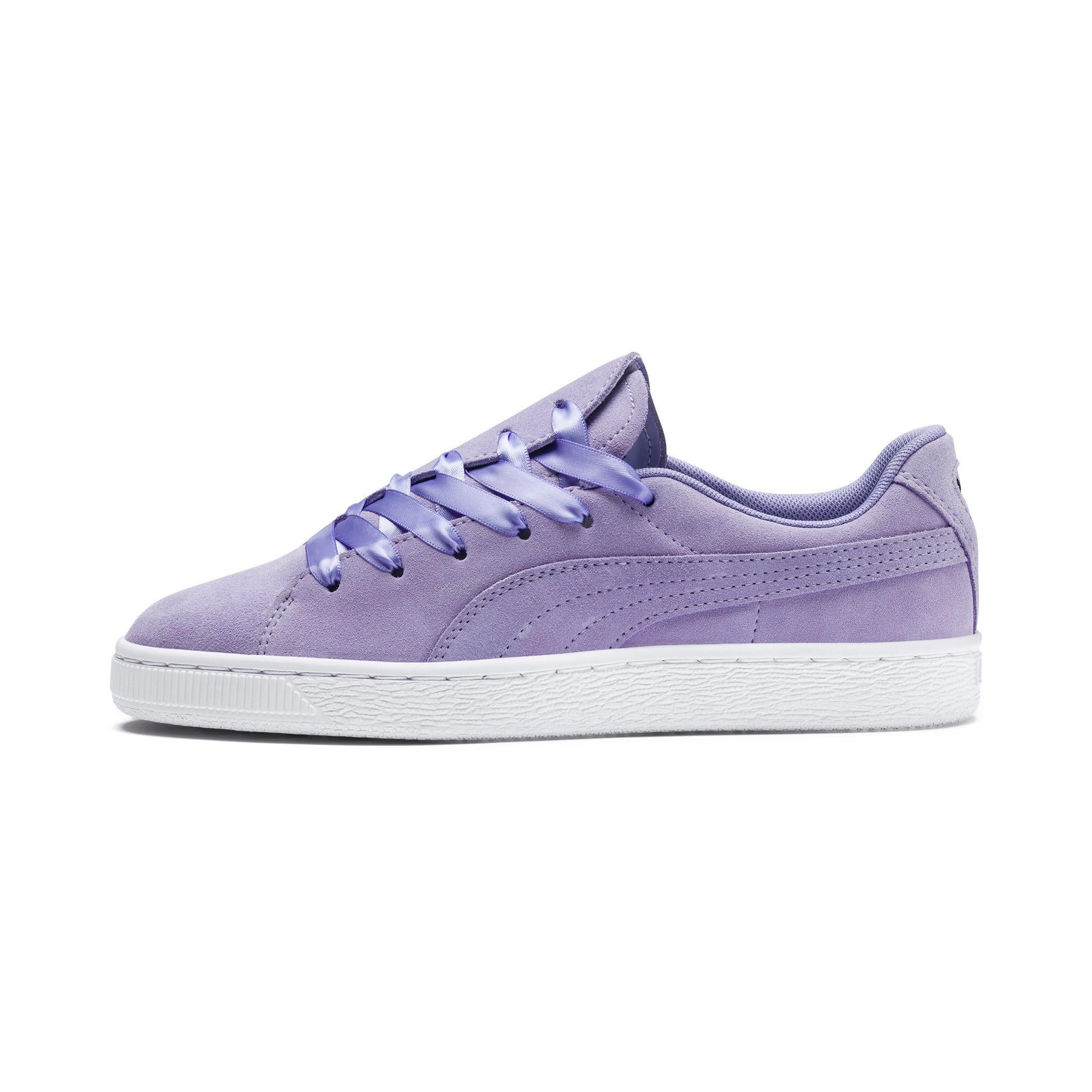 Thumbnail 1 of Suede Crush Women's Sneakers, Sweet Lavender, medium