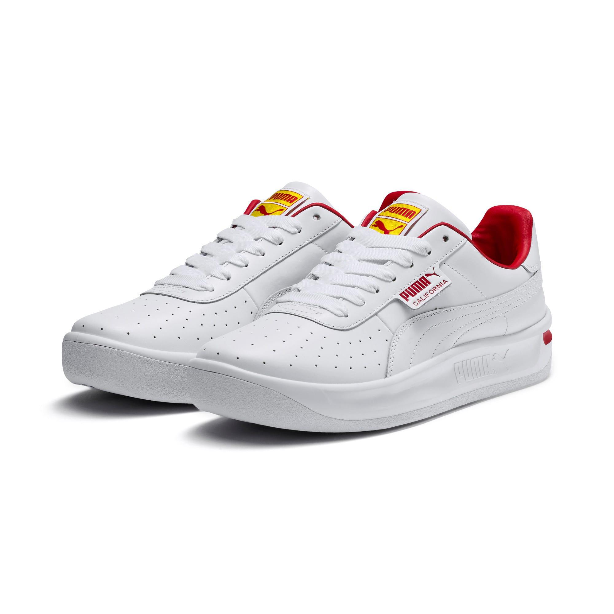 Thumbnail 3 of California Drive Thru Shoes, P Wht-HighRiskRed-Blazg Yelw, medium
