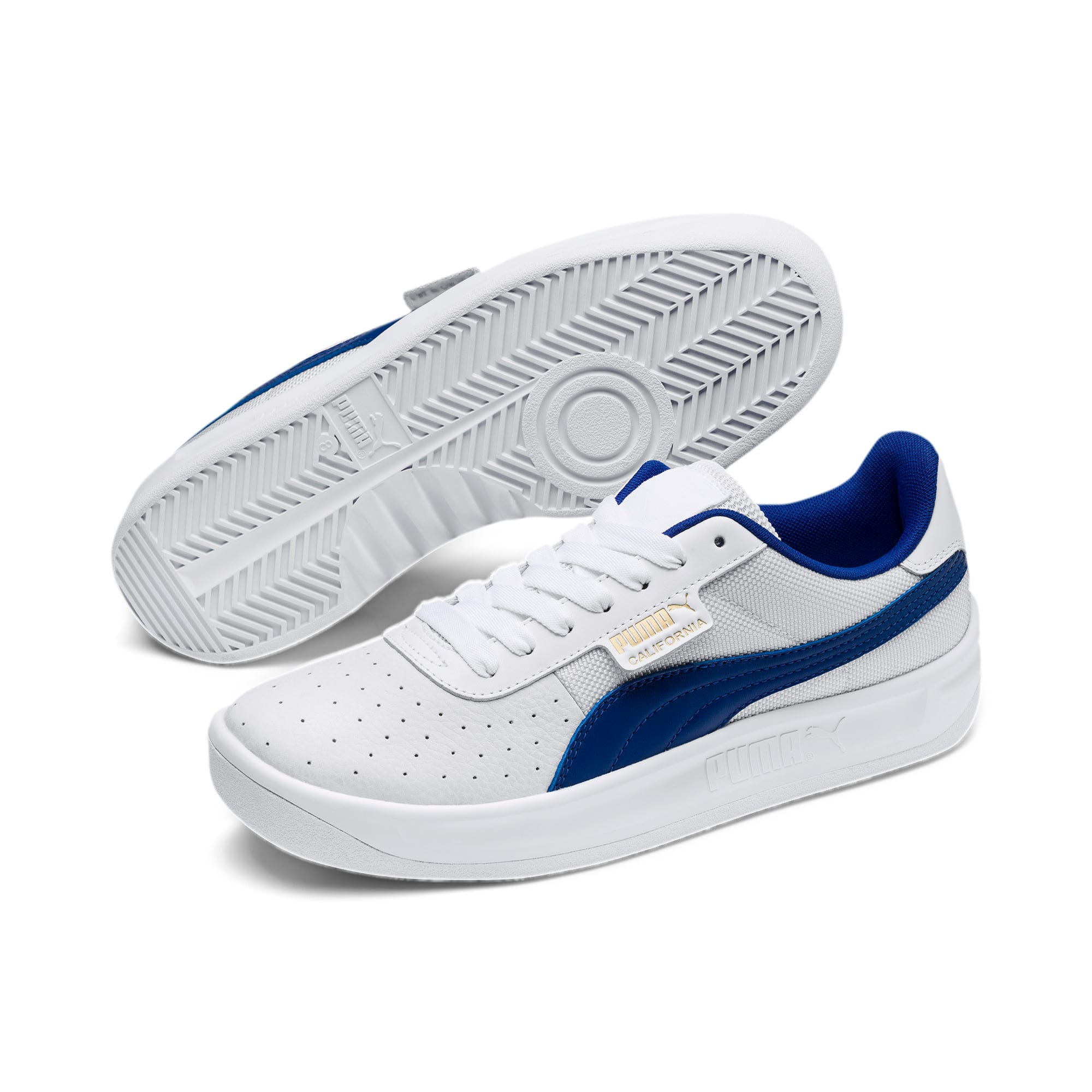 Thumbnail 3 of Classics California Trainers, Puma White-Surf D Web-P Wht, medium