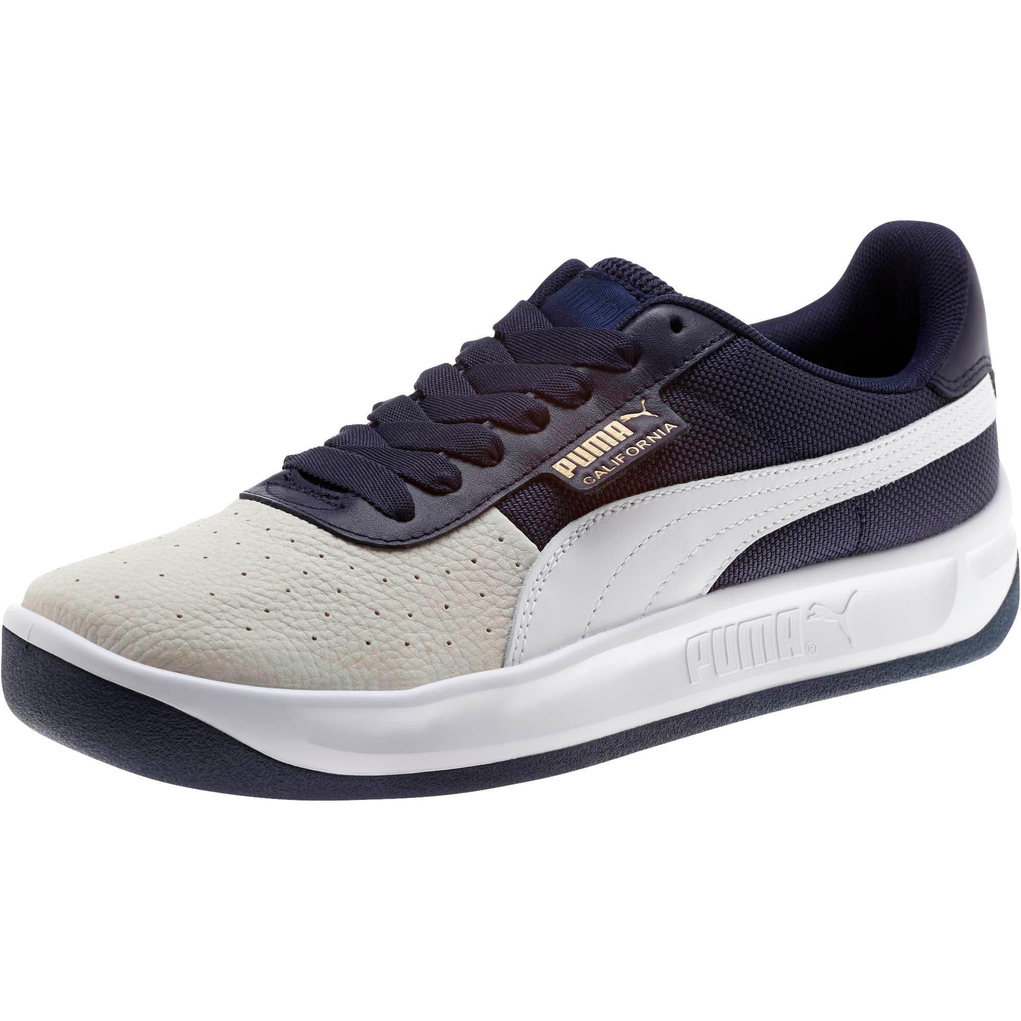 Thumbnail 1 of California Sneakers, Glacier Gray-Peacoat-PumaWht, medium