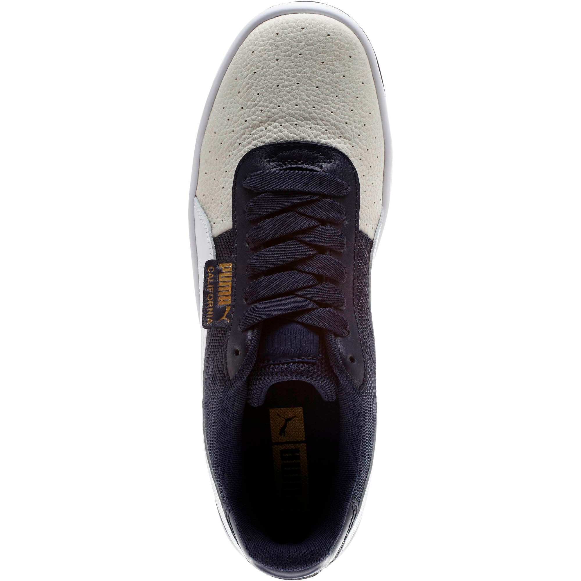 Thumbnail 5 of California Sneakers, Glacier Gray-Peacoat-PumaWht, medium