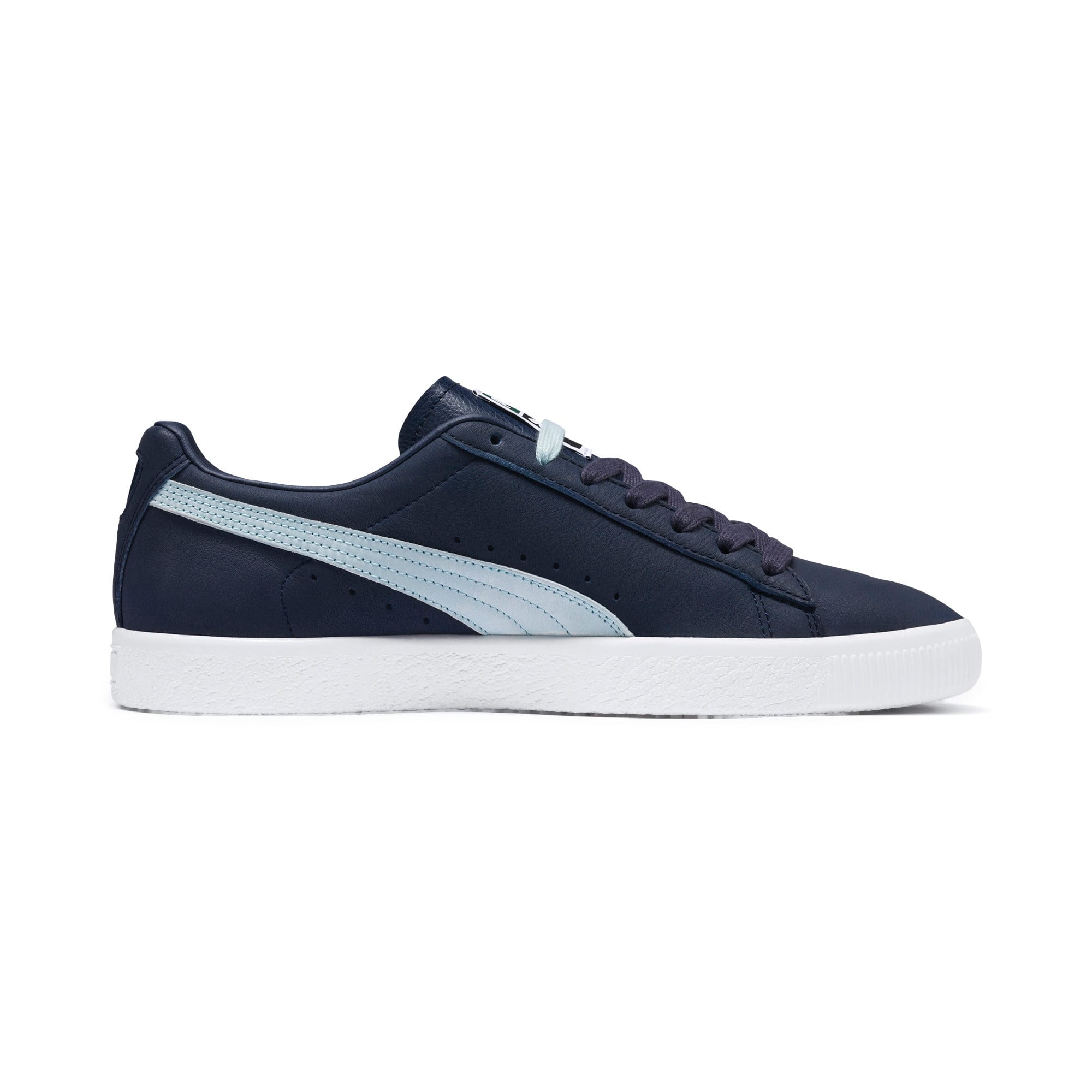 Thumbnail 6 of Clyde Trainers, Peacoat-Light Sky-Puma White, medium