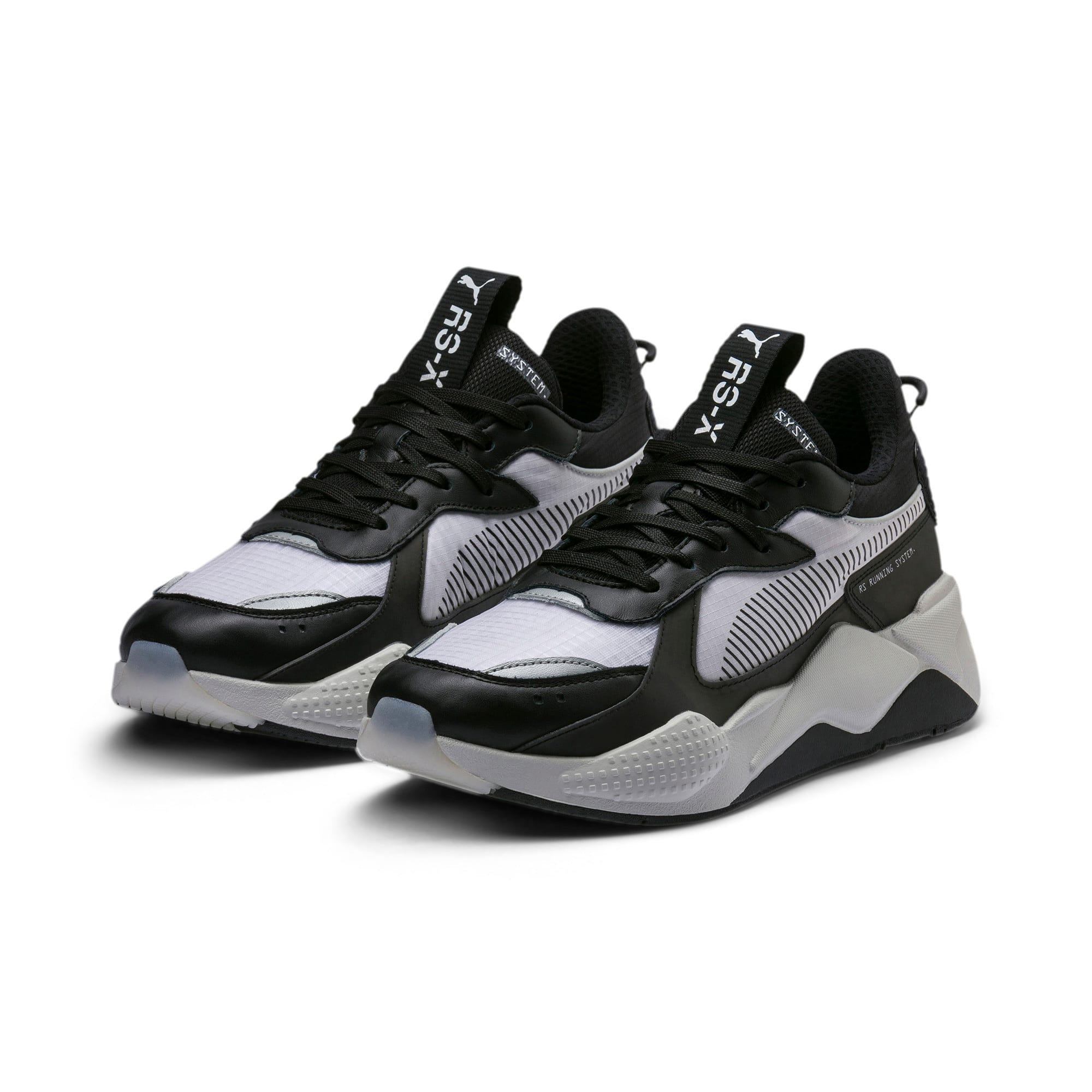 Thumbnail 3 of Basket RS-X Tech, Puma Black-Vaporous Gray, medium