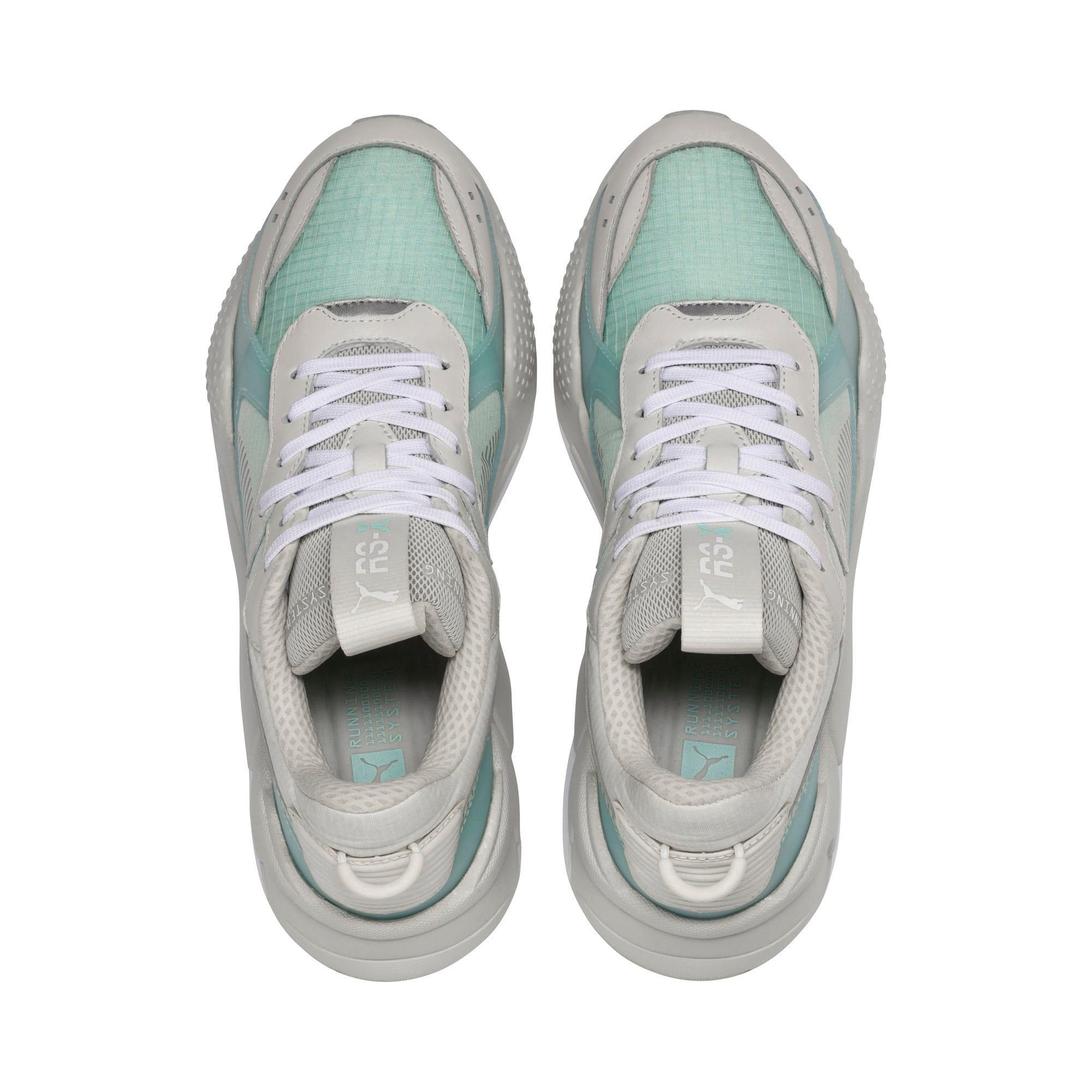 Thumbnail 6 of RS-X TECH Sneakers, Vaporous Gray-Fair Aqua, medium