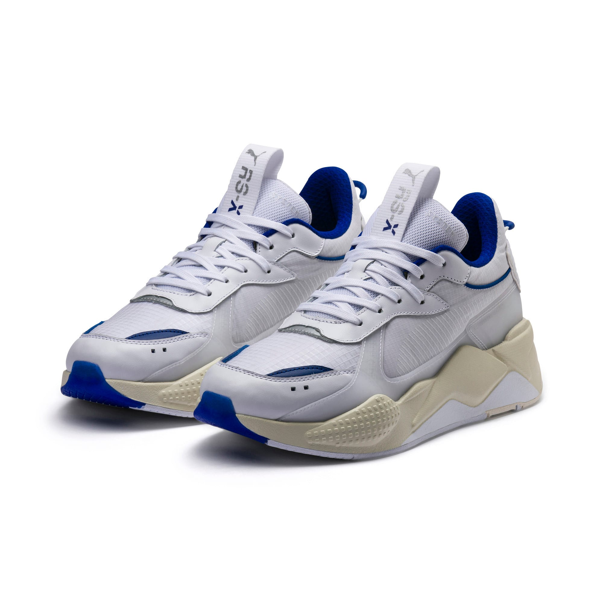 Thumbnail 3 of RS-X Tech Sneaker, Puma White-Whisper White, medium