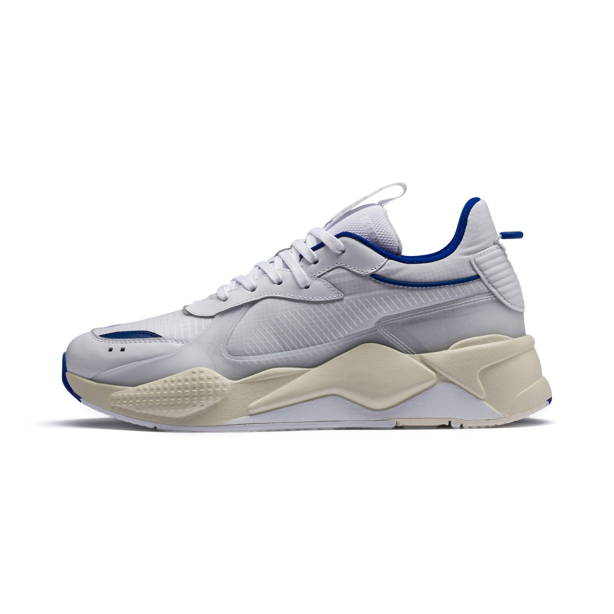 Thumbnail 1 of RS-X Tech Sneaker, Puma White-Whisper White, medium