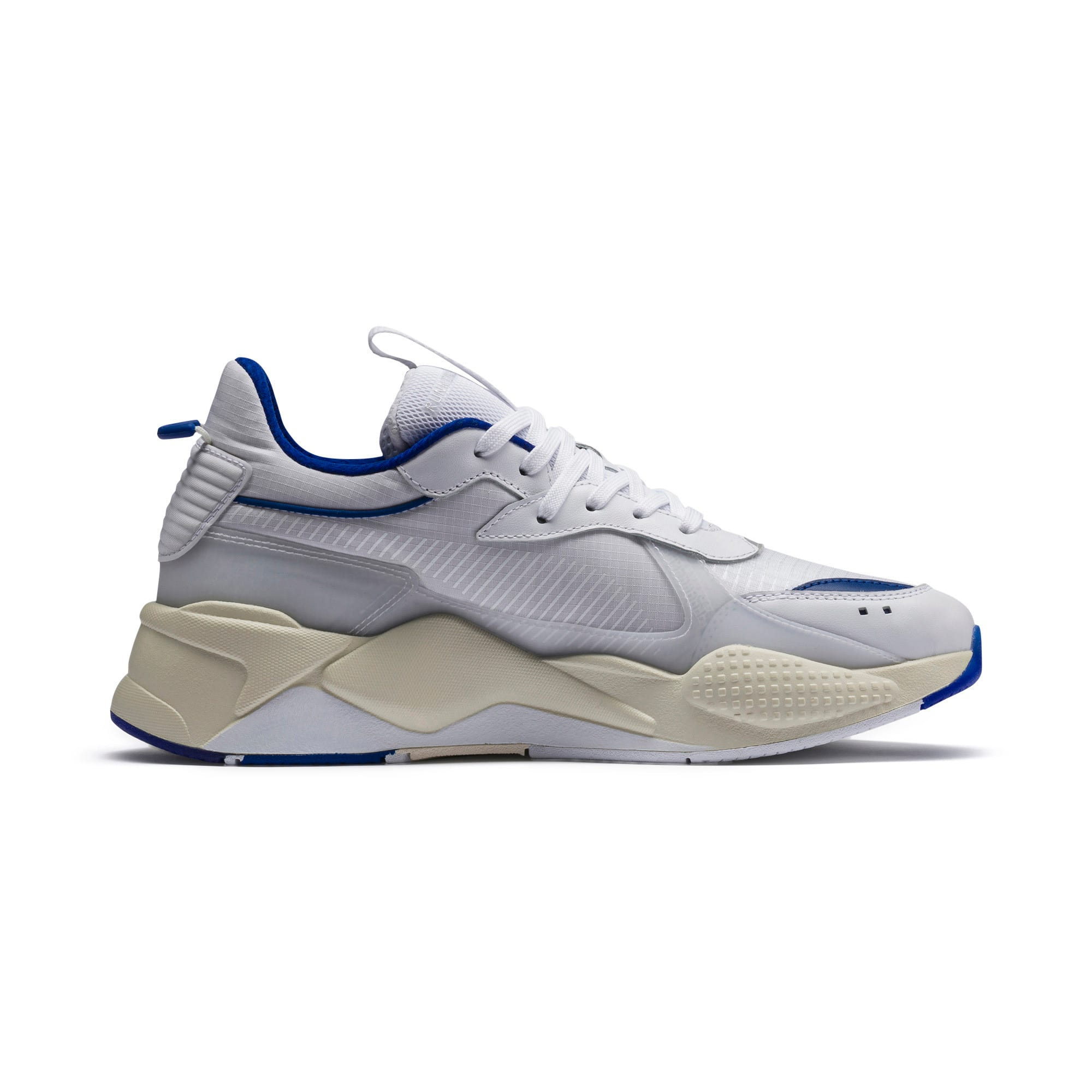 Thumbnail 6 of RS-X Tech Sneaker, Puma White-Whisper White, medium