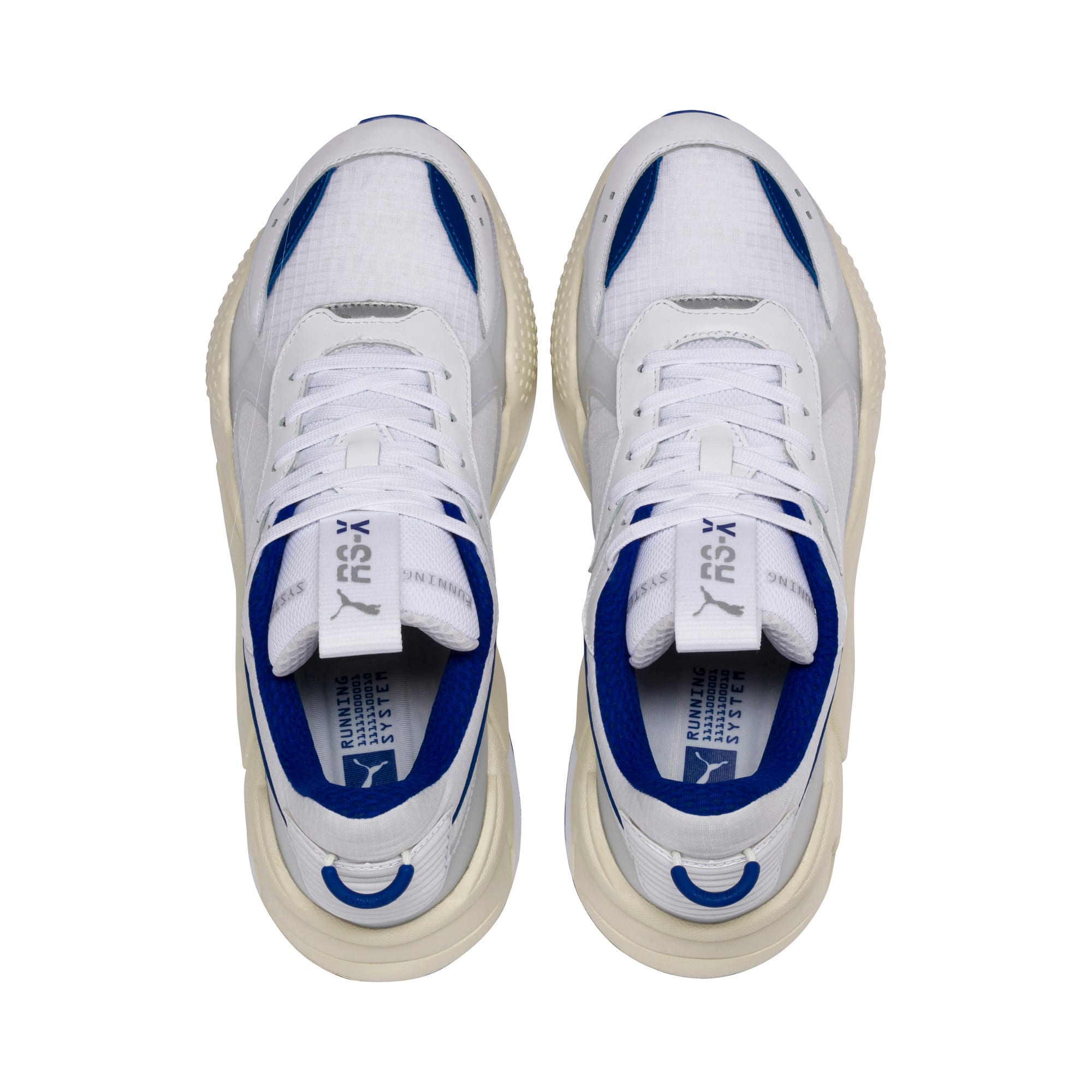 Thumbnail 7 of RS-X Tech Sneaker, Puma White-Whisper White, medium