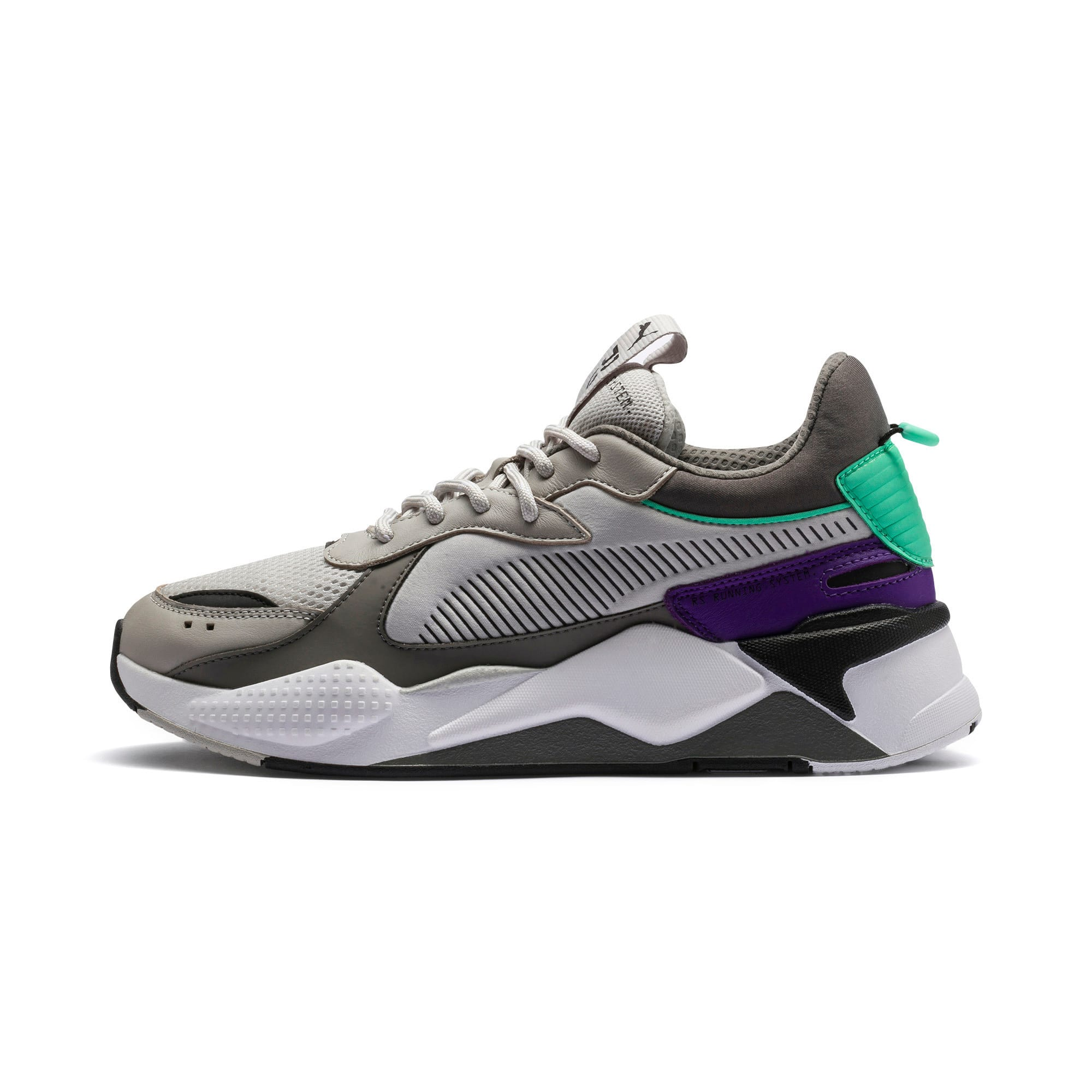 Thumbnail 1 of RS-X Tracks Trainers, Gray Violet-Charcoal Gray, medium