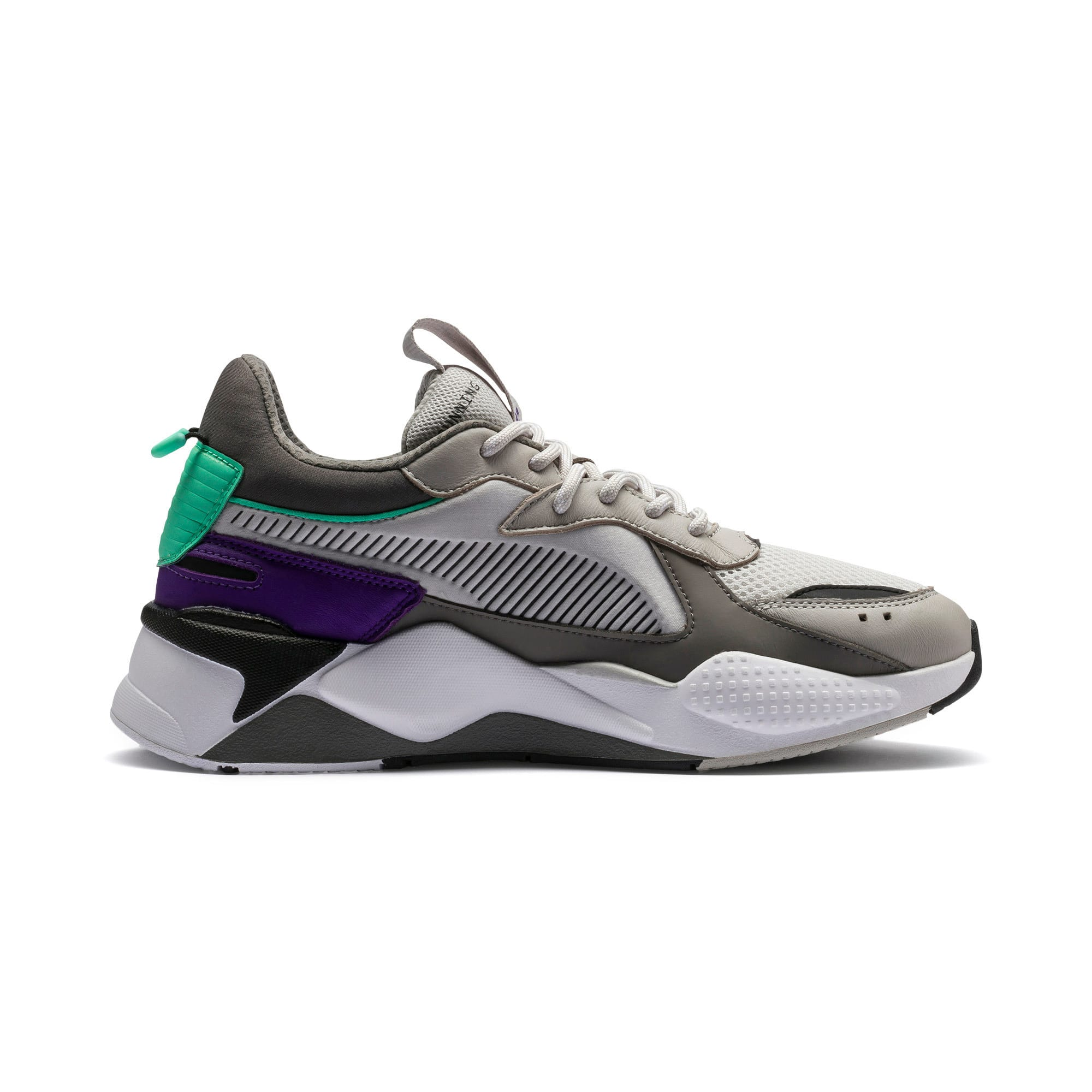 Thumbnail 7 of RS-X Tracks Trainers, Gray Violet-Charcoal Gray, medium