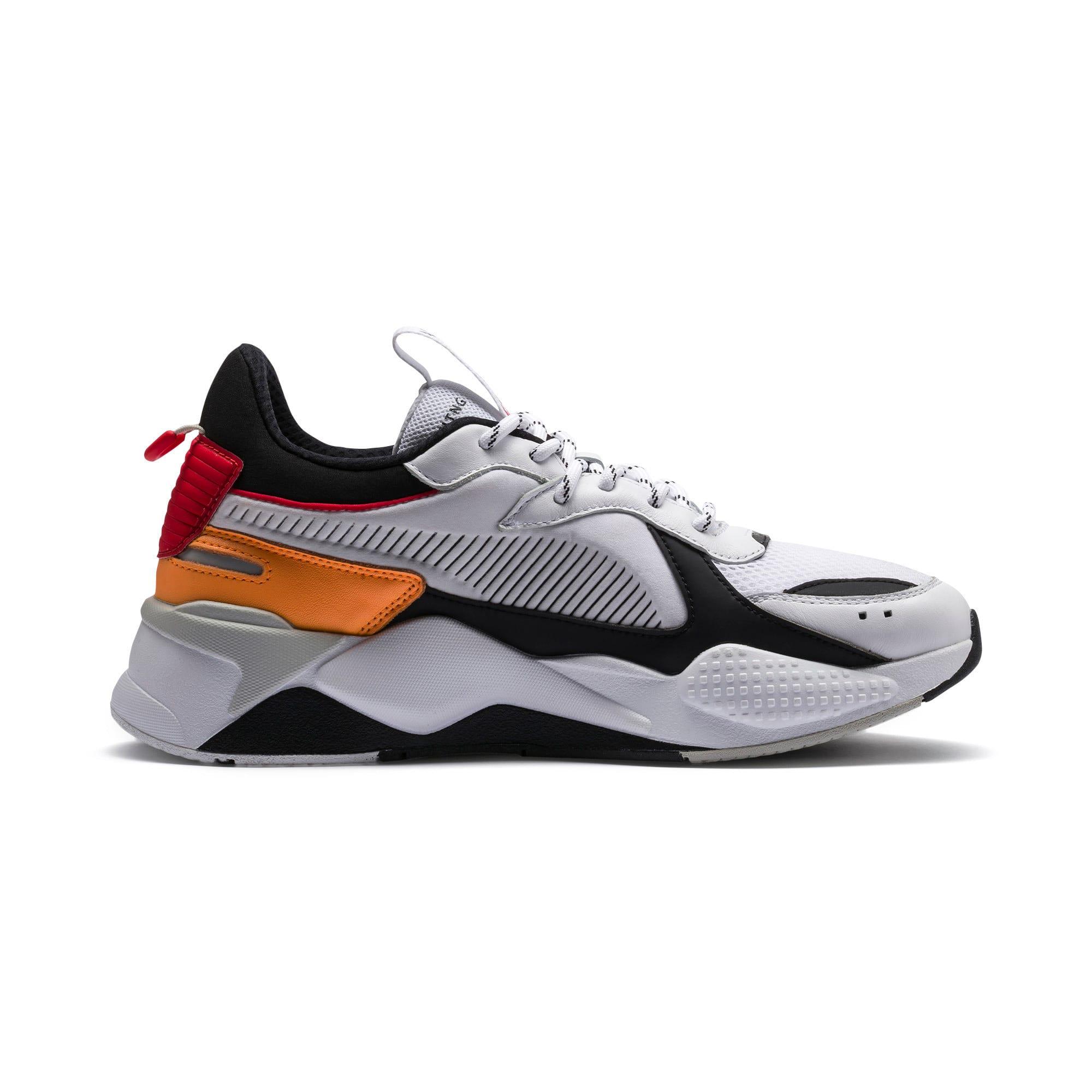 Thumbnail 6 of RS-X Tracks Trainers, Puma White-Puma Black, medium