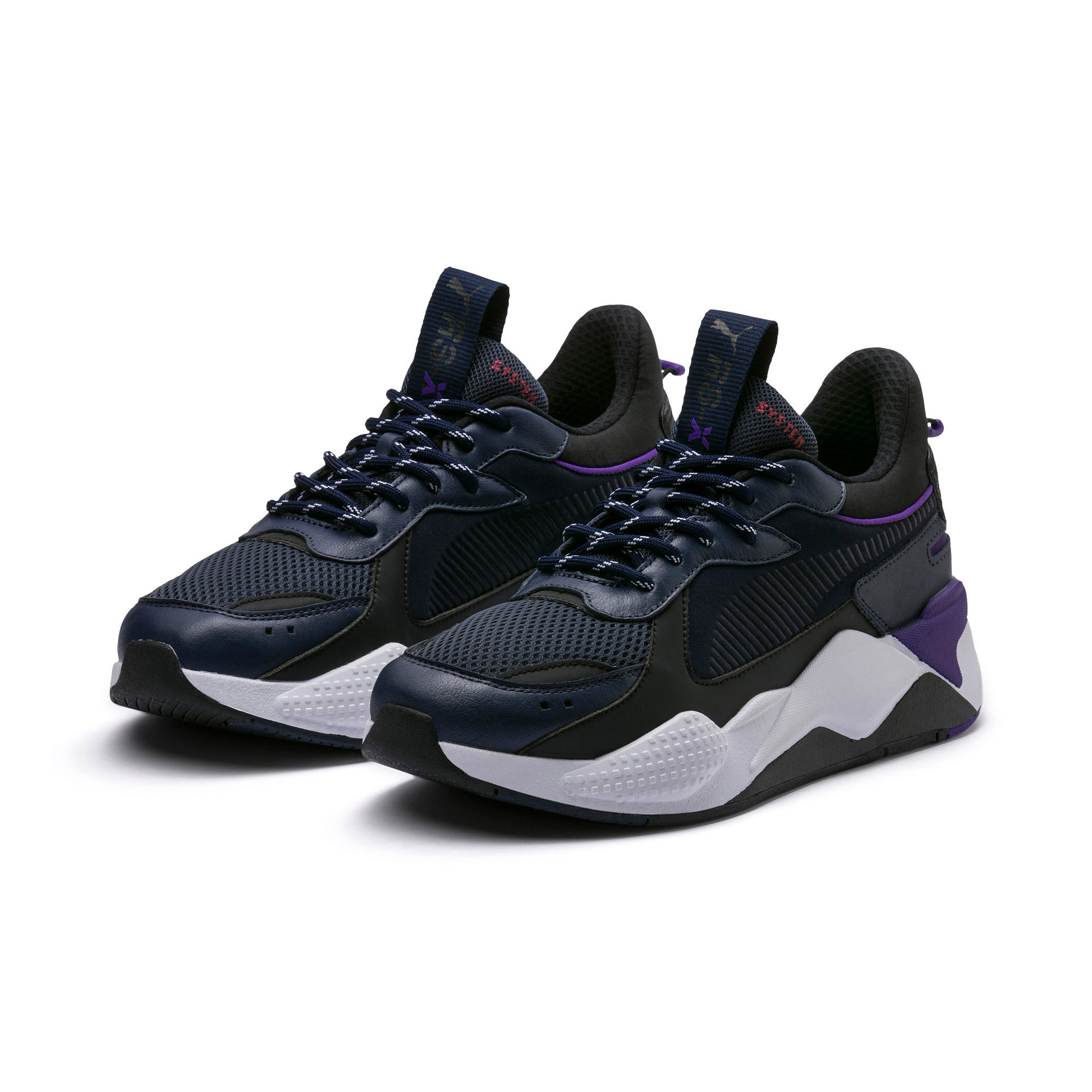 Miniatura 2 de RS-X Tracks, Puma New Navy-Puma Black, mediano