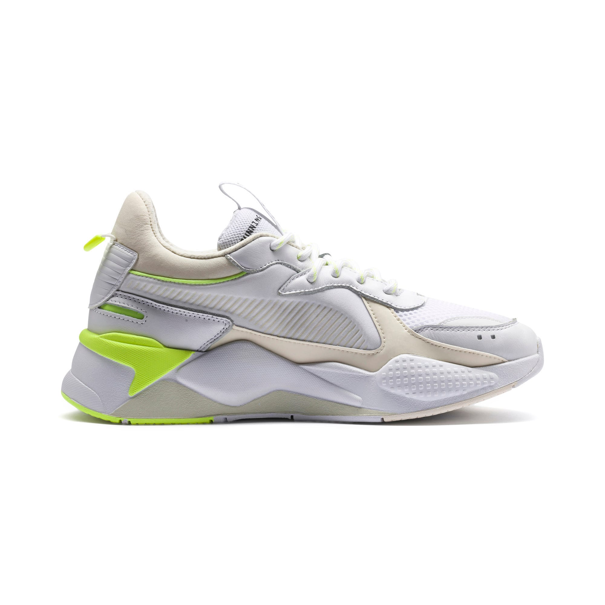Thumbnail 5 of RS-X Tracks Trainers, Puma White-Whisper White, medium