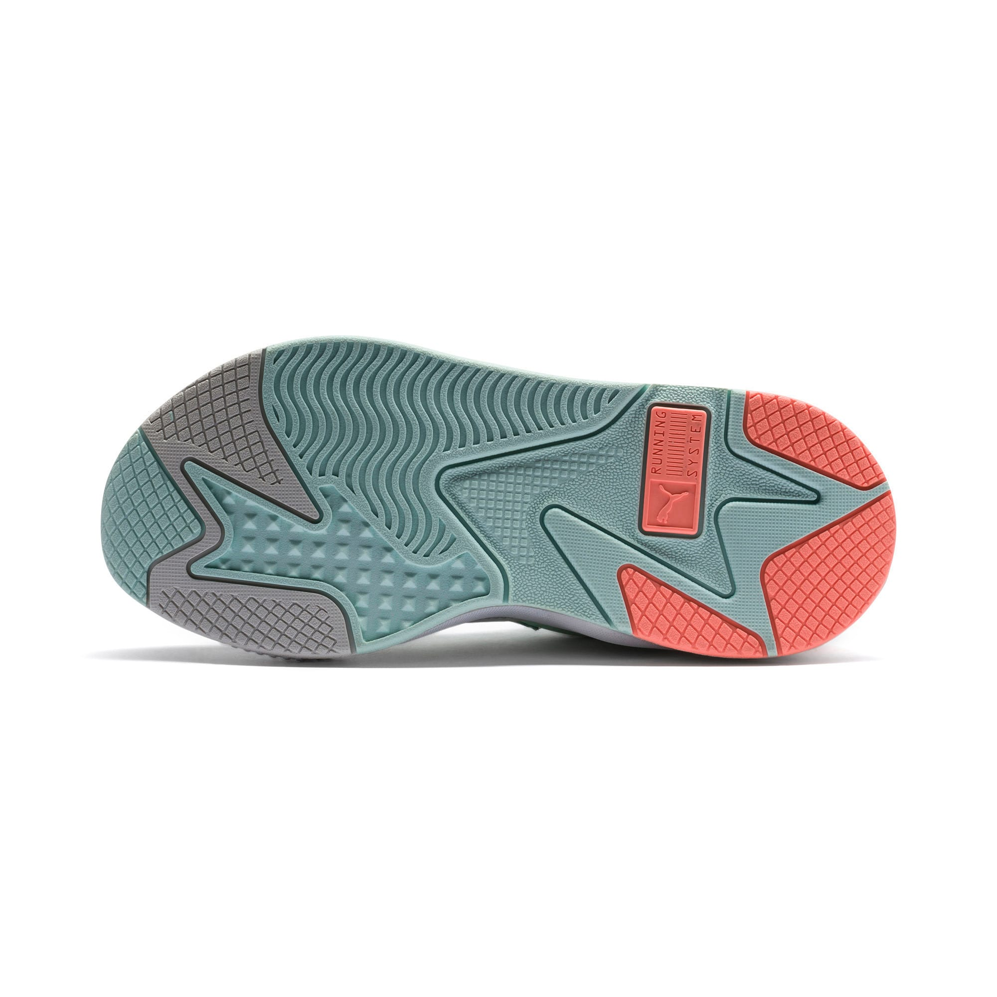 Thumbnail 4 of RS-X Tracks Trainers, Fair Aqua-Glacier Gray, medium