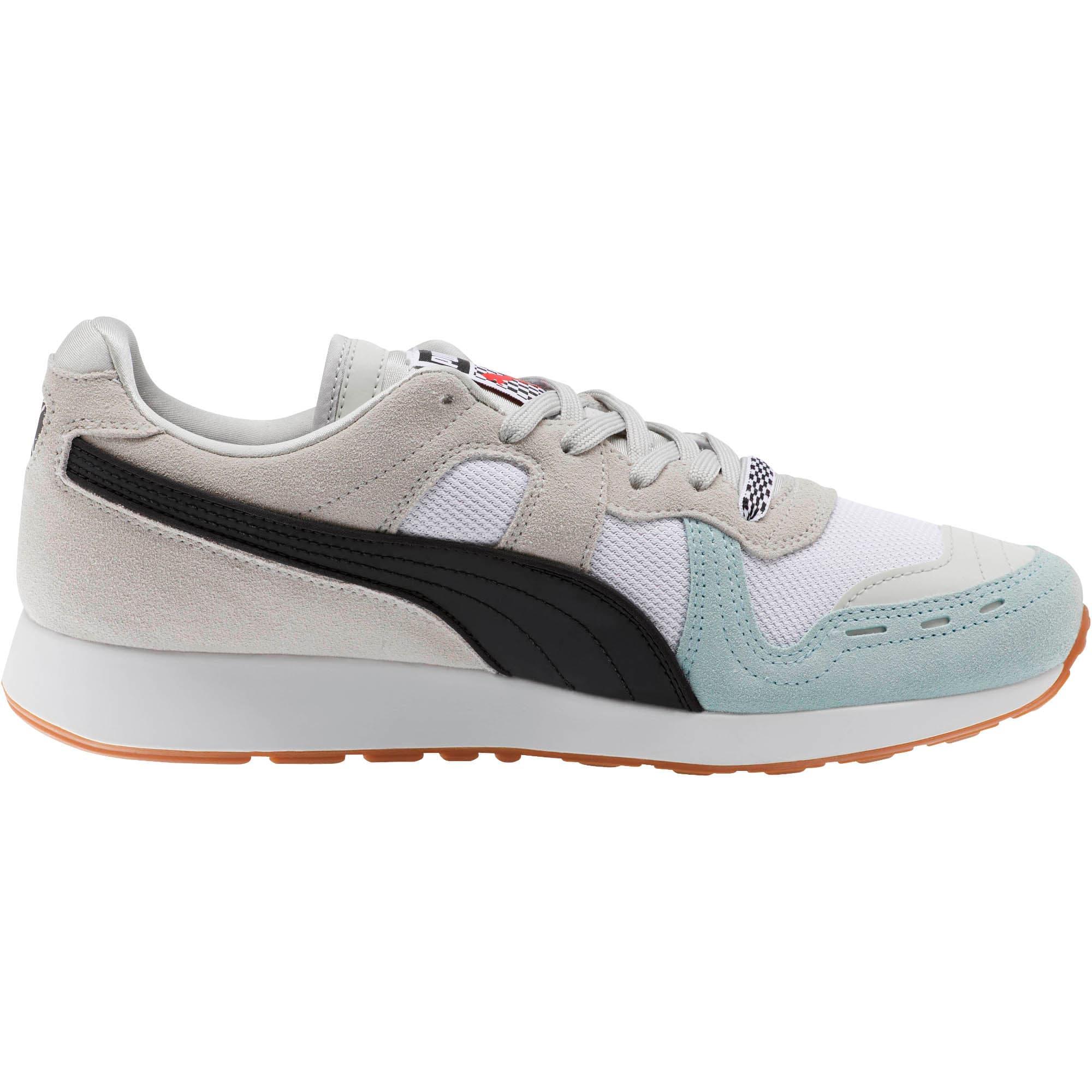 Miniatura 4 de Zapatos deportivos RS-100 Racing Flag, Glacier Gray-Puma White, mediano