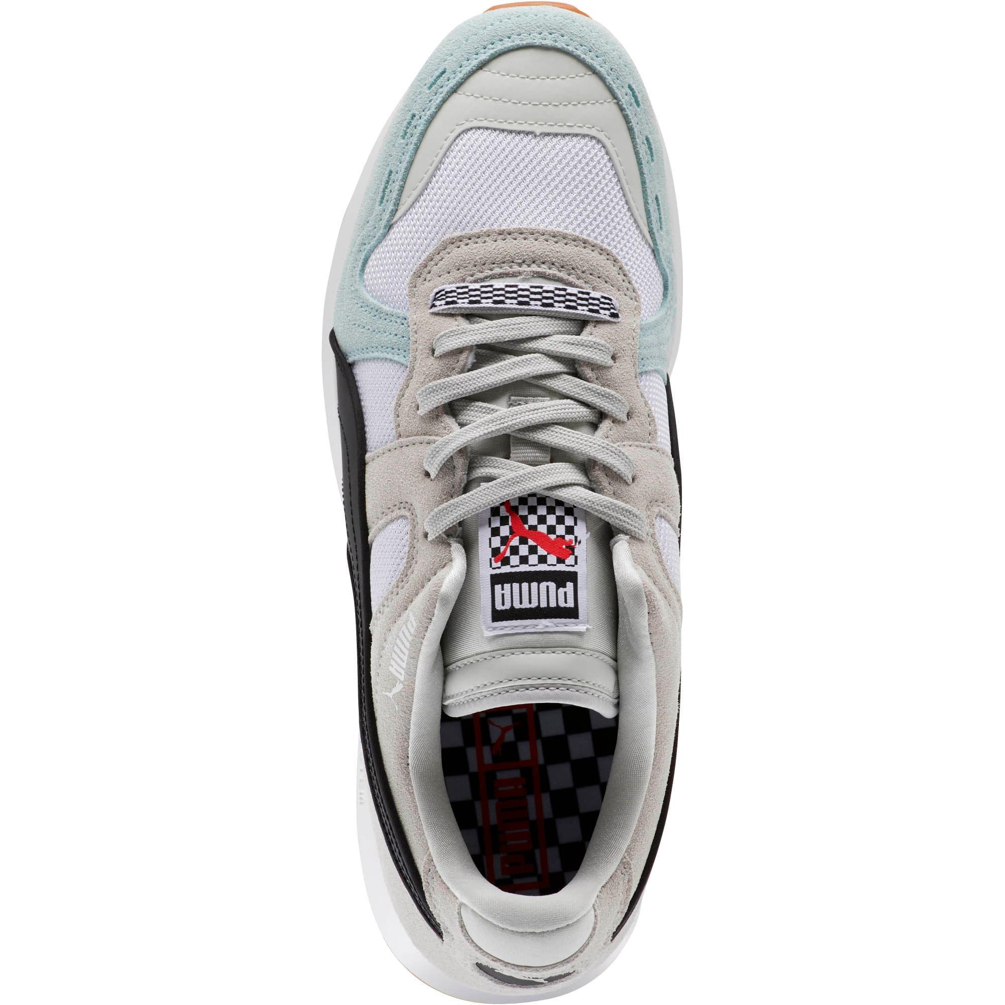 Miniatura 5 de Zapatos deportivos RS-100 Racing Flag, Glacier Gray-Puma White, mediano
