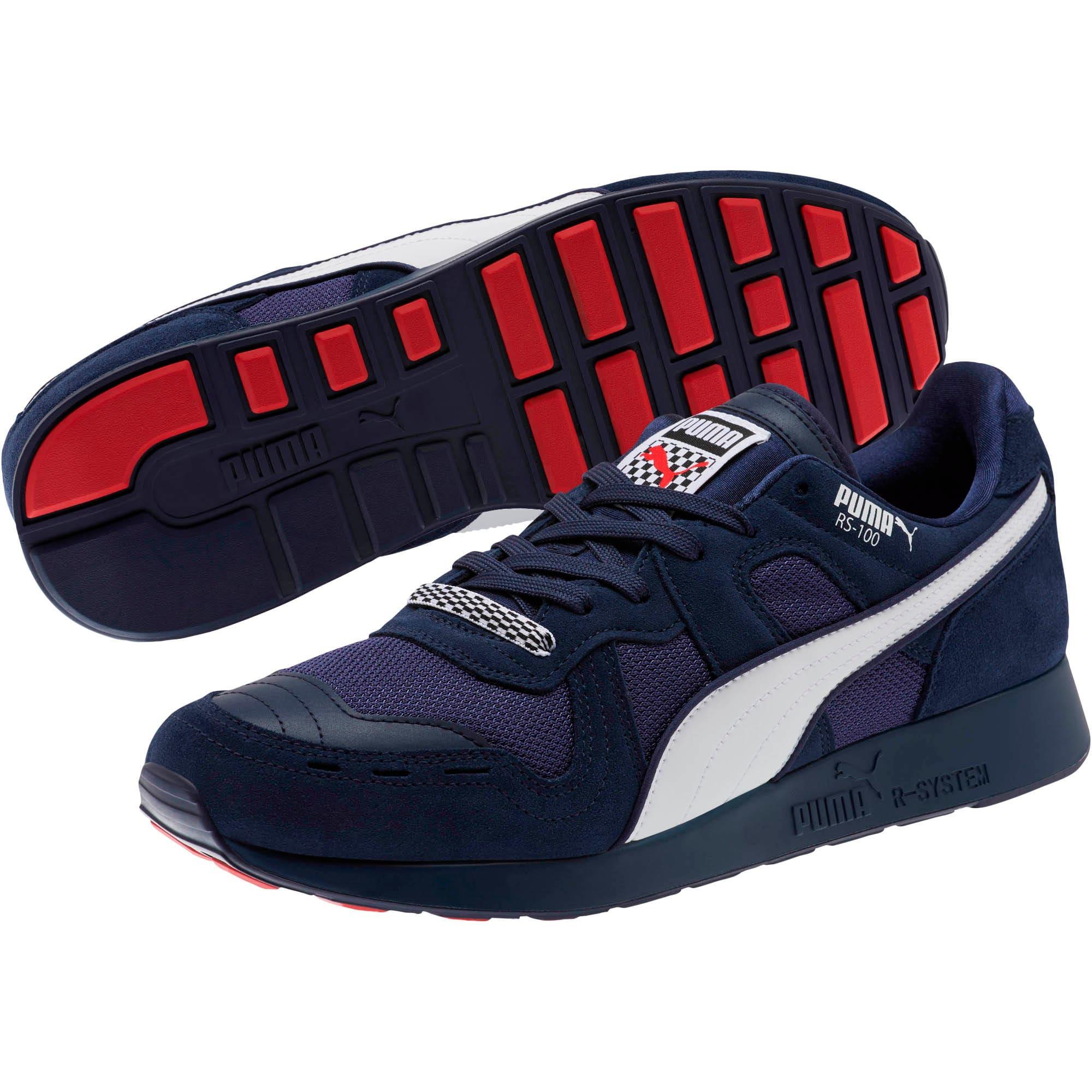 Miniatura 2 de Zapatos deportivos RS-100 Racing Flag, Peacoat-Puma White, mediano
