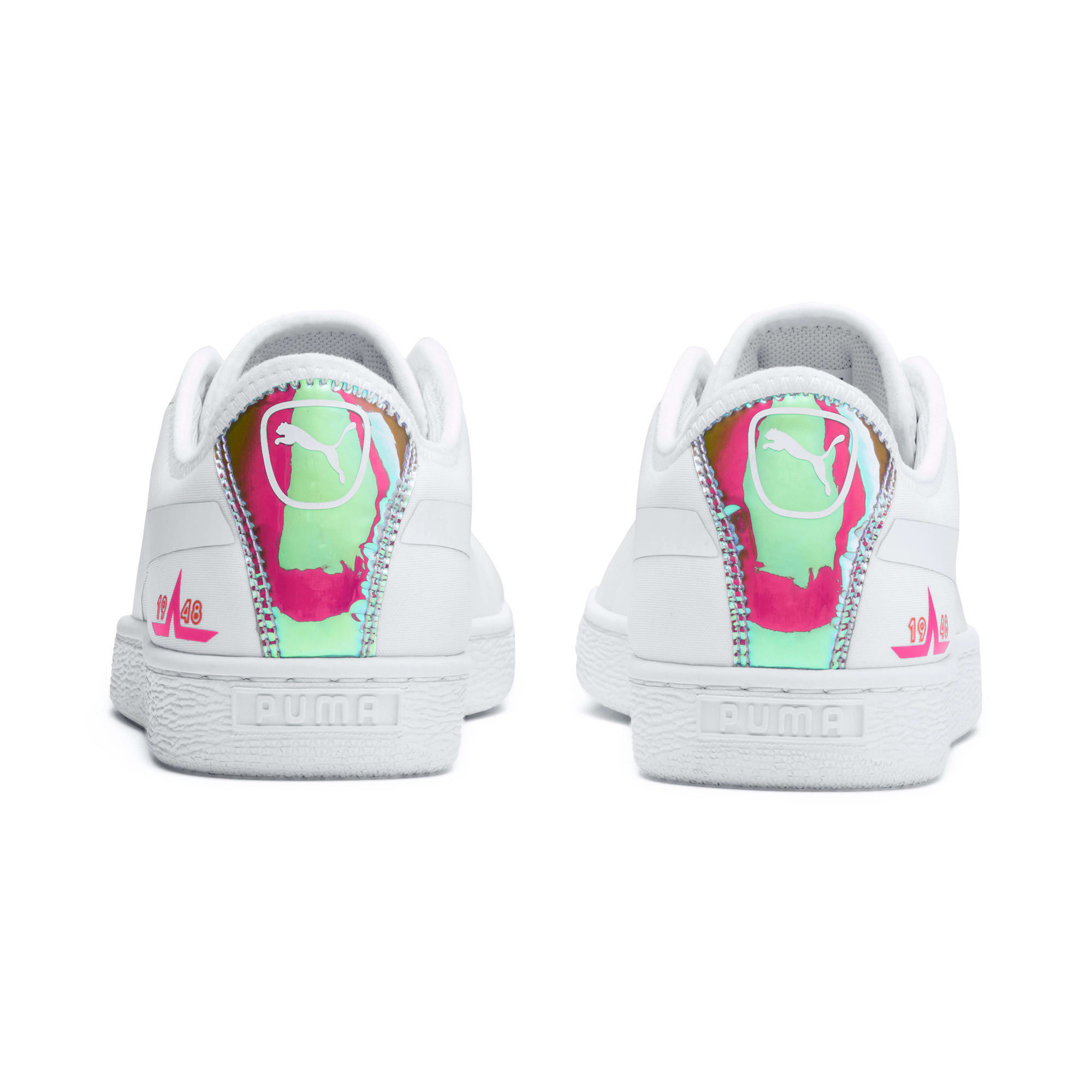 Miniatura 4 de Zapatos deportivos  Basket Trailblazerpara mujer, Puma White-Fuchsia Purple, mediano