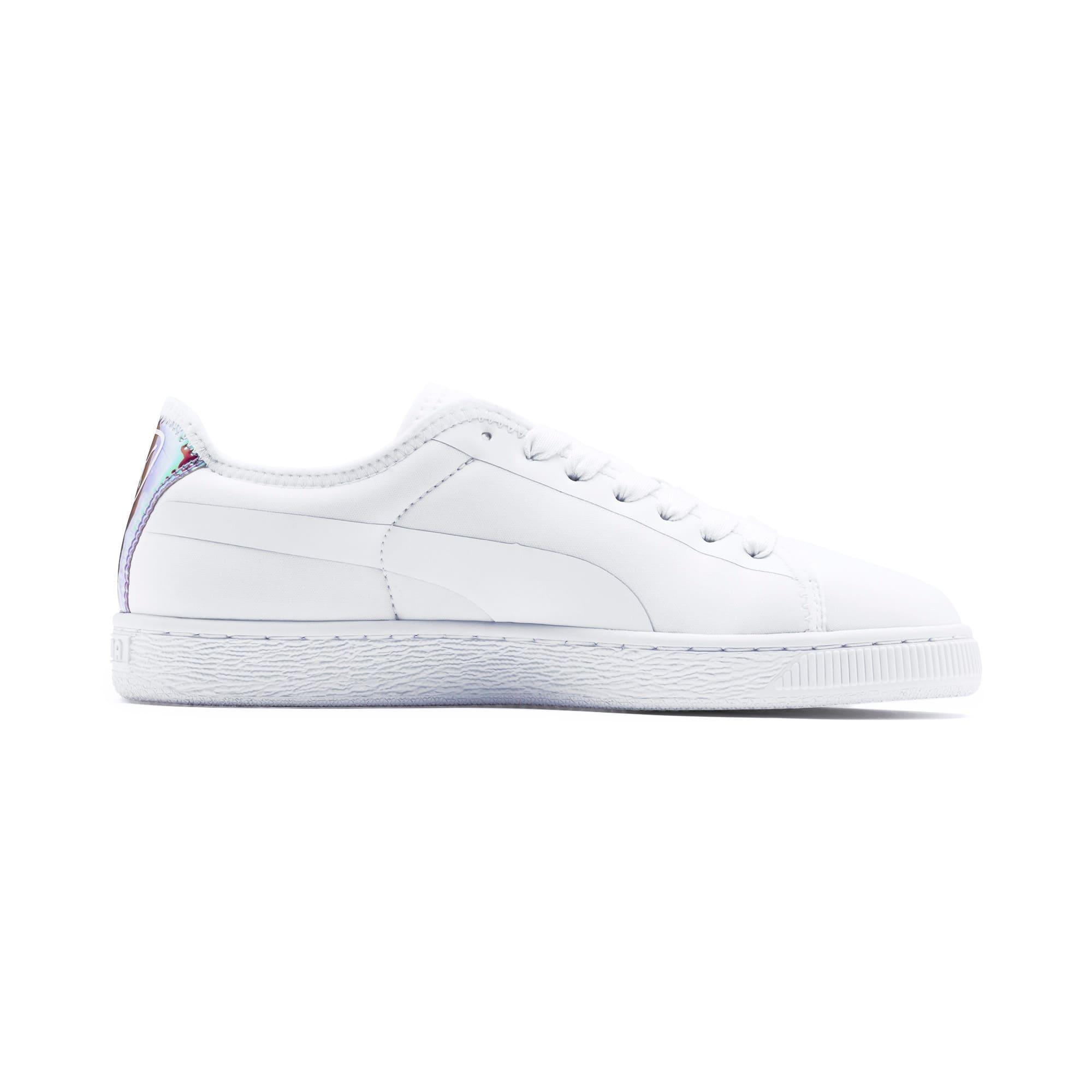 Miniatura 5 de Zapatos deportivos  Basket Trailblazerpara mujer, Puma White-Fuchsia Purple, mediano