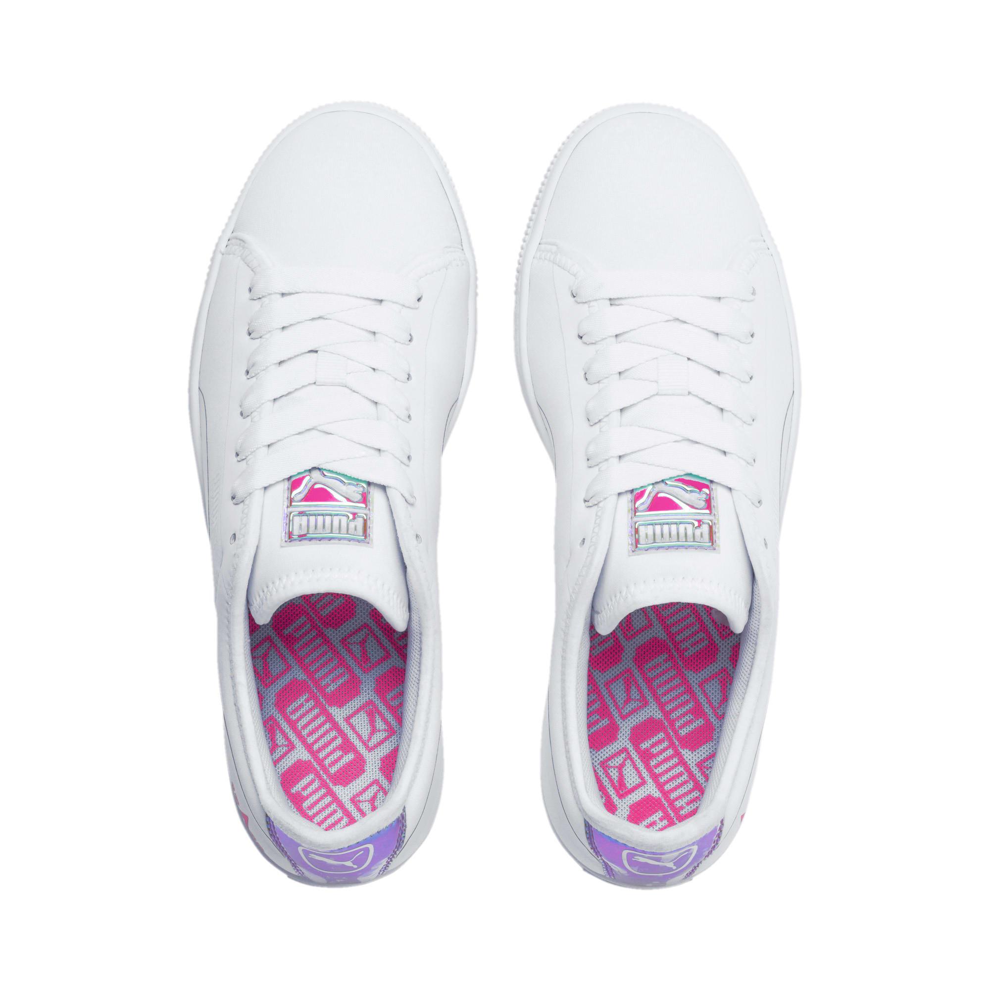Miniatura 6 de Zapatos deportivos  Basket Trailblazerpara mujer, Puma White-Fuchsia Purple, mediano
