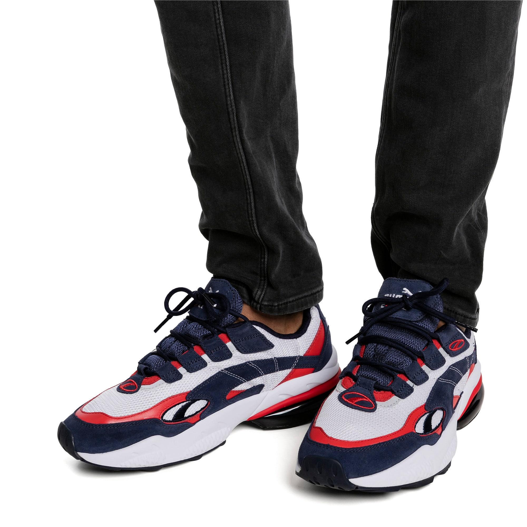 Thumbnail 2 of CELL Venom Men's Sneakers, Peacoat-High Risk Red, medium
