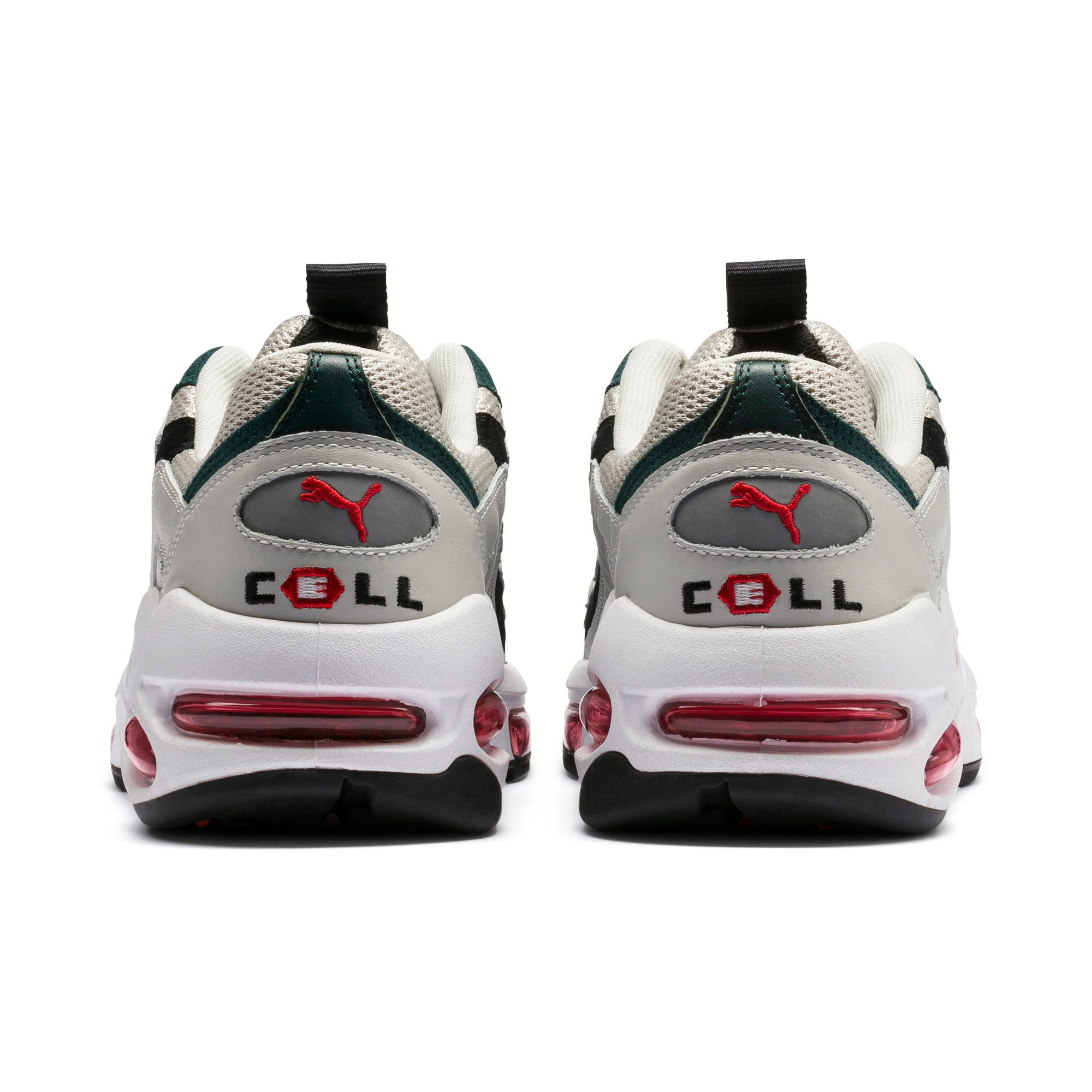 Thumbnail 4 of CELL Endura Sneakers, Glacier Gray-High Risk Red, medium