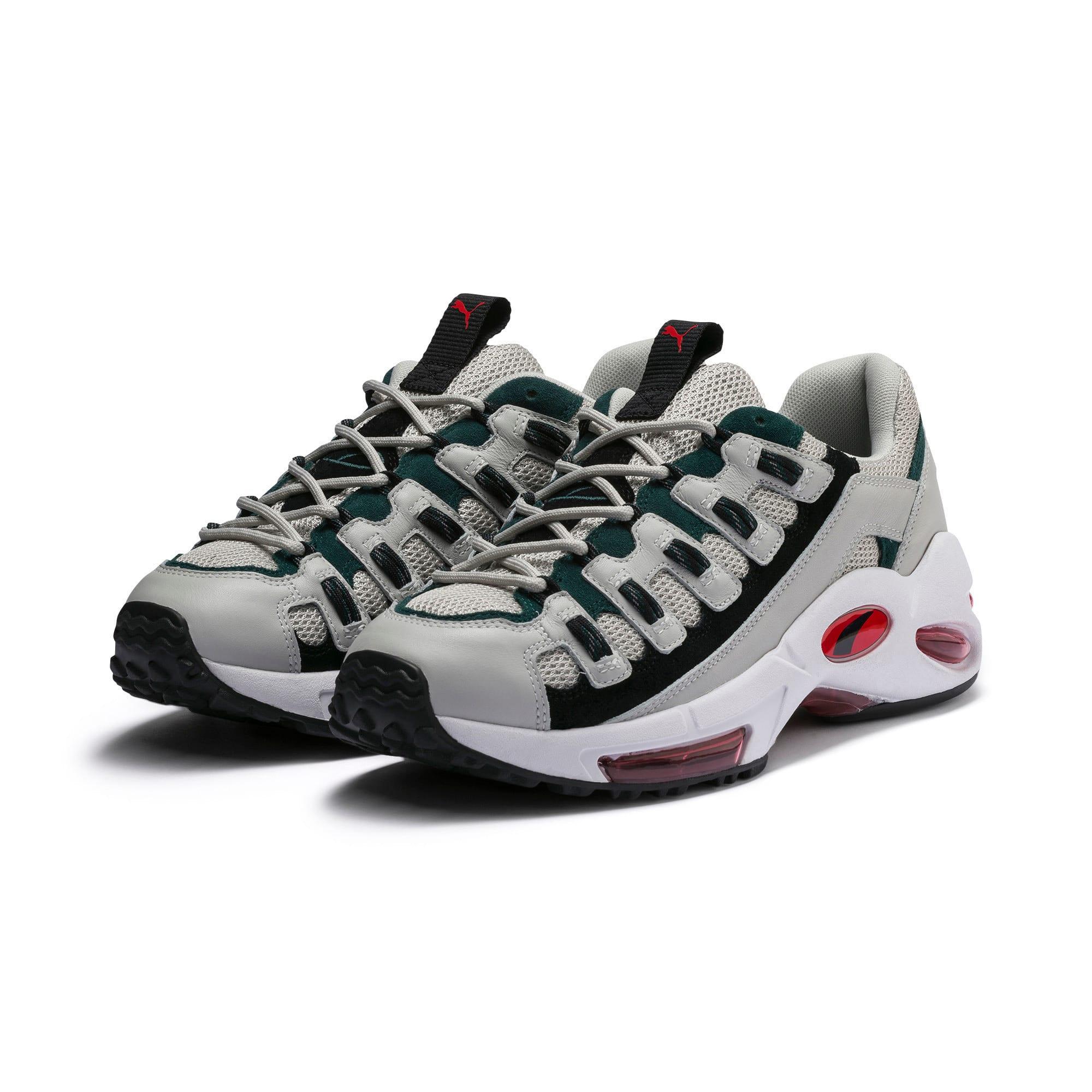 Thumbnail 2 of CELL Endura Sneakers, Glacier Gray-High Risk Red, medium