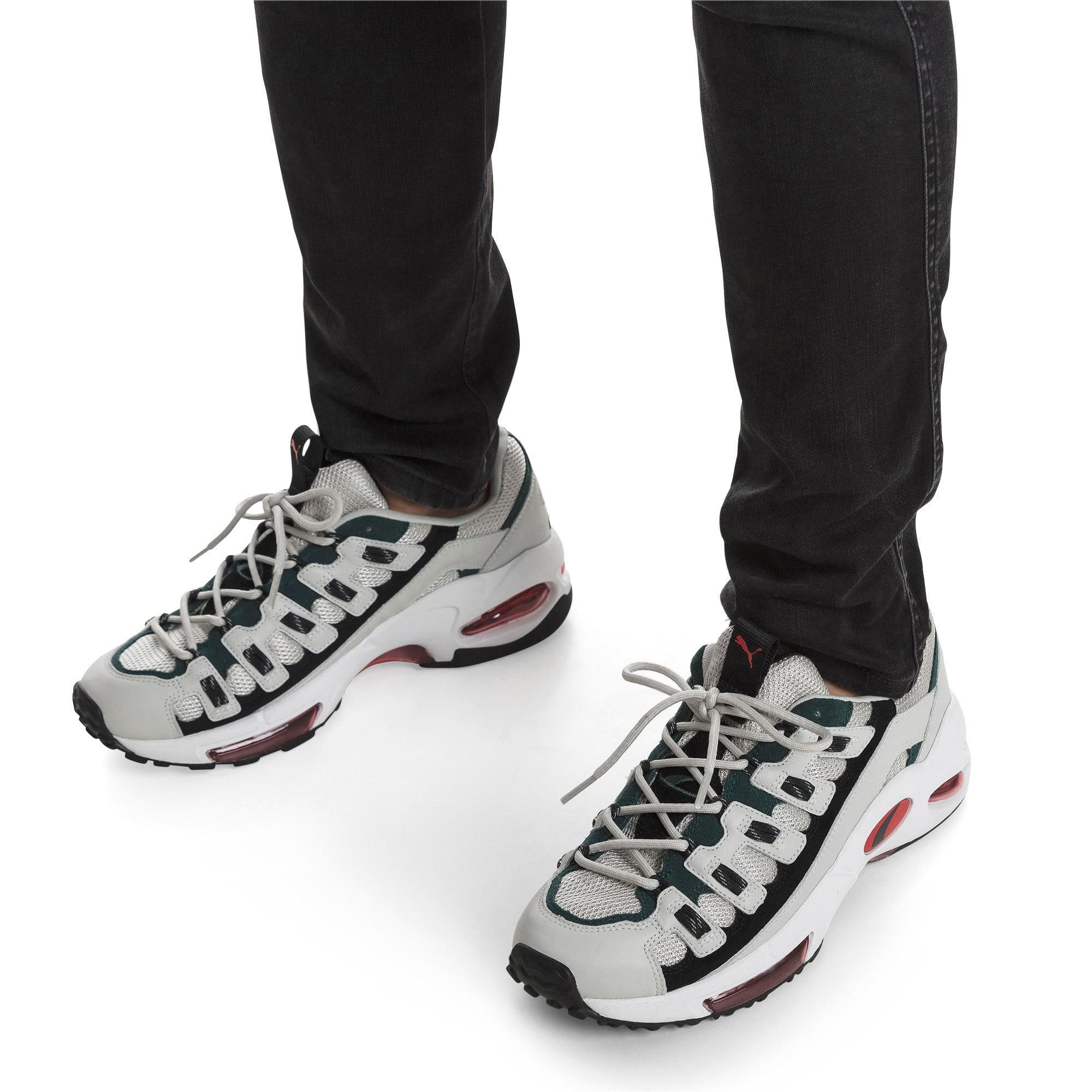 Thumbnail 7 of CELL Endura Sneakers, Glacier Gray-High Risk Red, medium