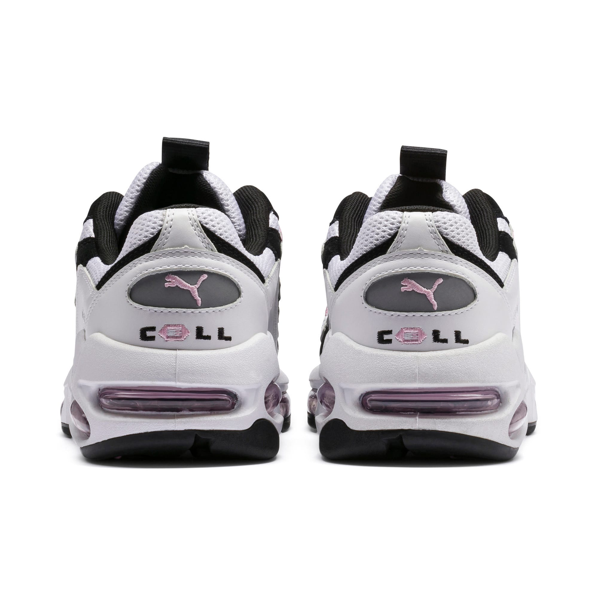 Thumbnail 4 of Cell Endura Trainers, Puma White-Pale Pink, medium