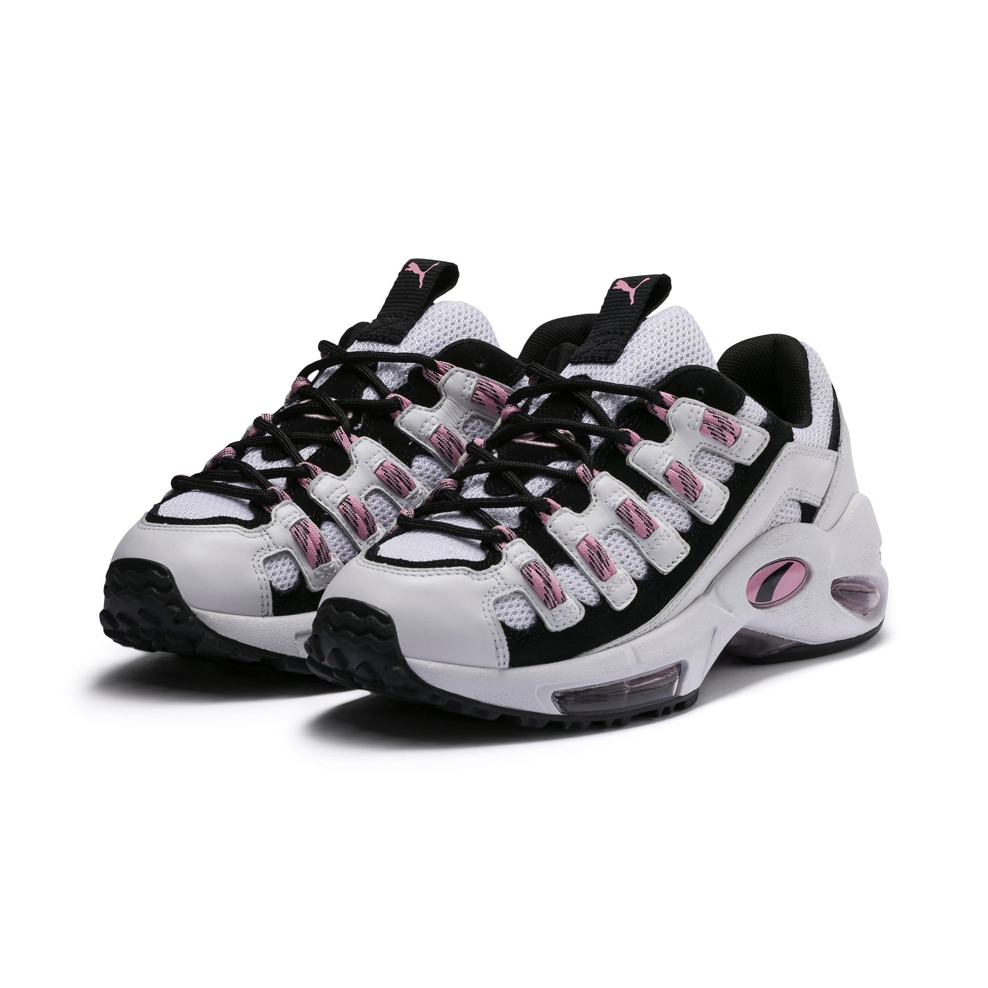 Thumbnail 3 of Cell Endura Trainers, Puma White-Pale Pink, medium