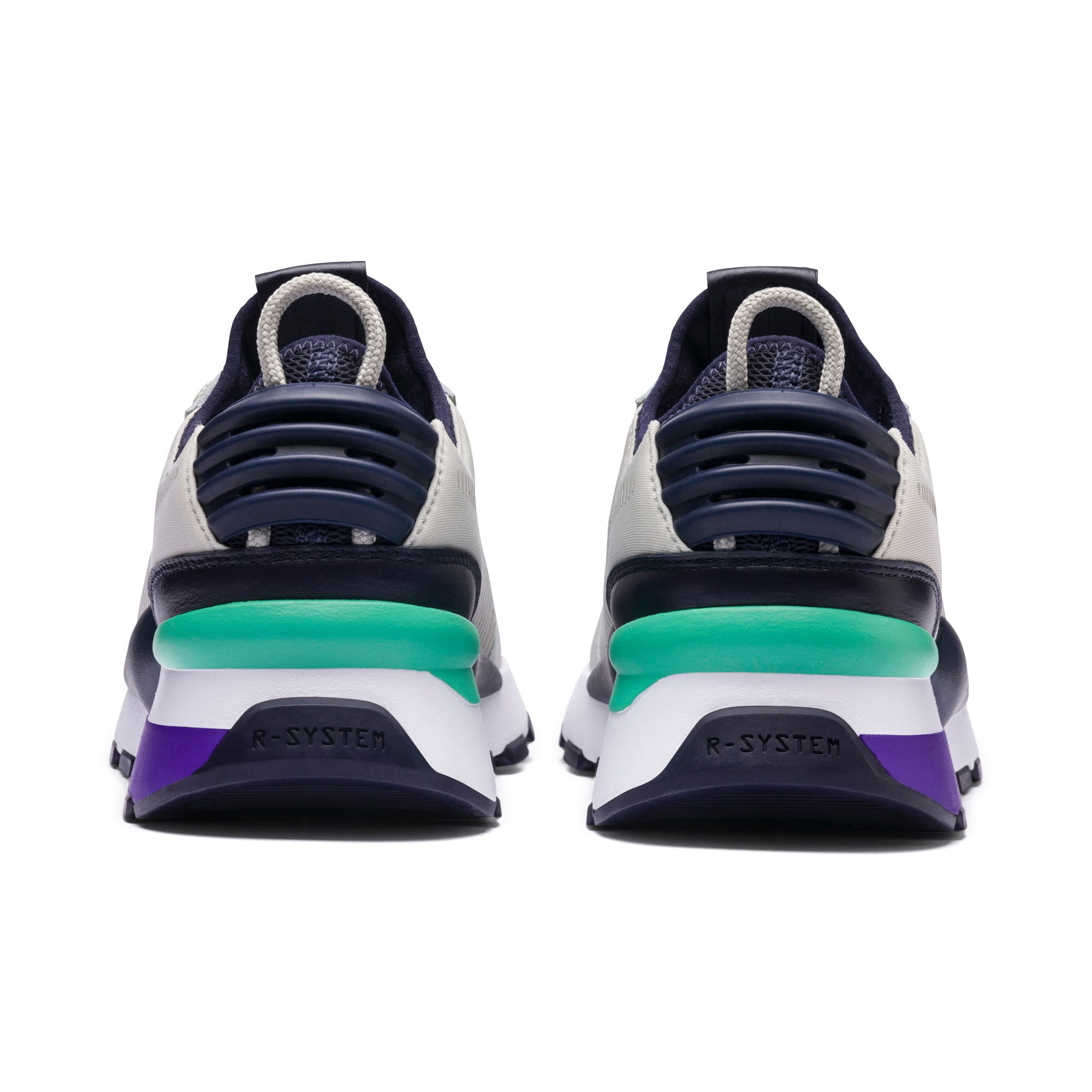 Thumbnail 4 of RS-0 TRACKS Trainers, Gray Violet-Puma New Navy, medium