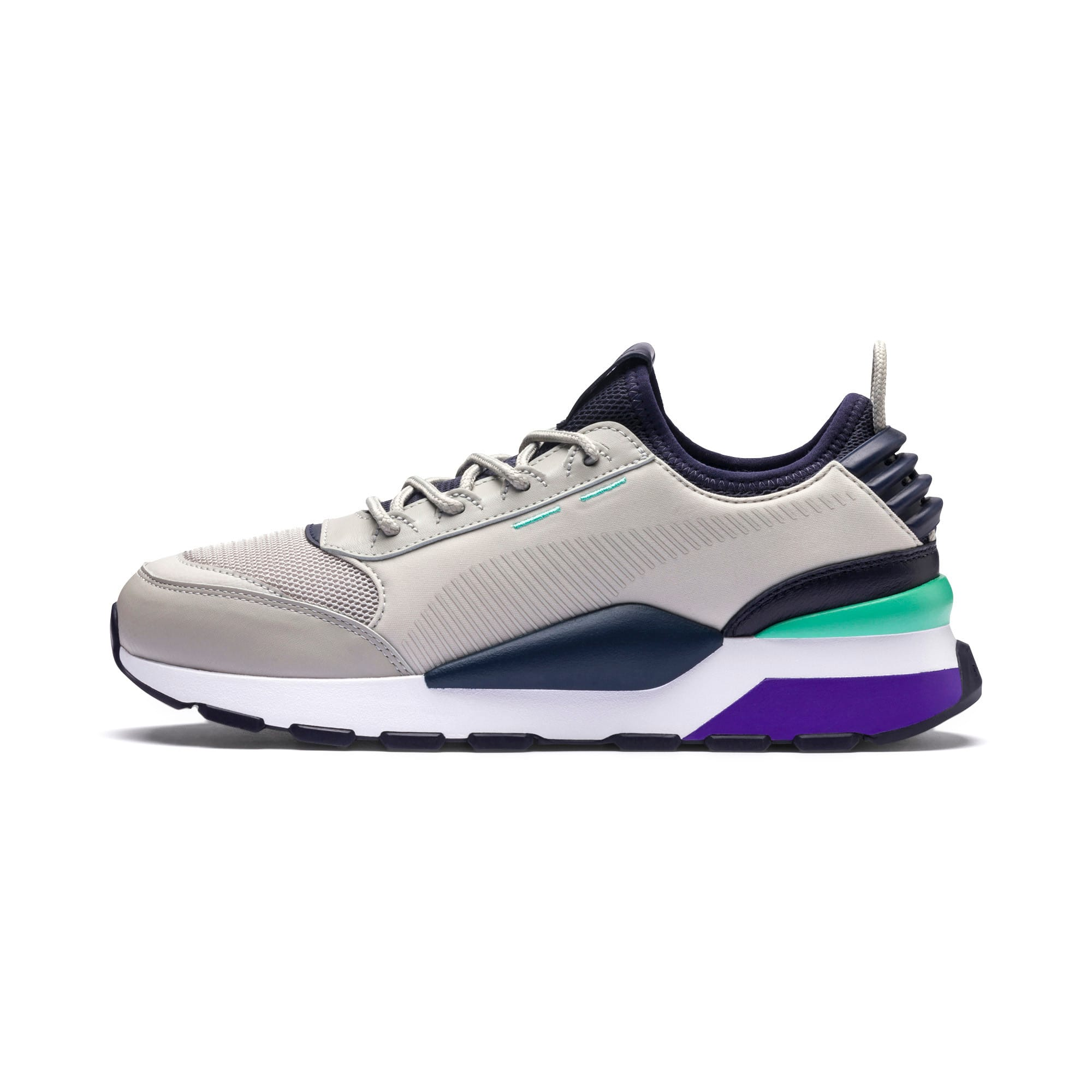 Thumbnail 1 of RS-0 TRACKS Trainers, Gray Violet-Puma New Navy, medium